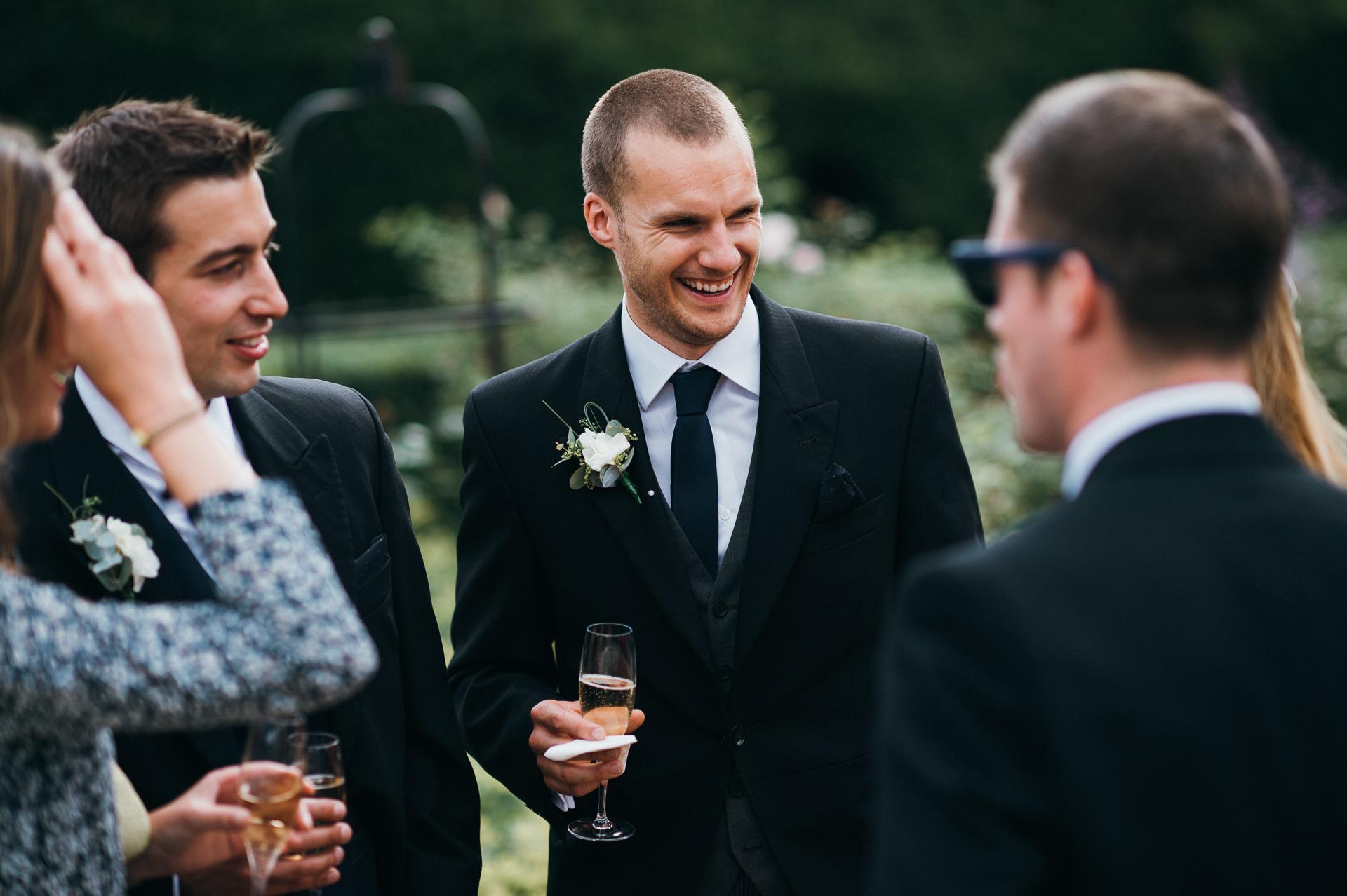 Sudeley castle wedding in Queens Garden