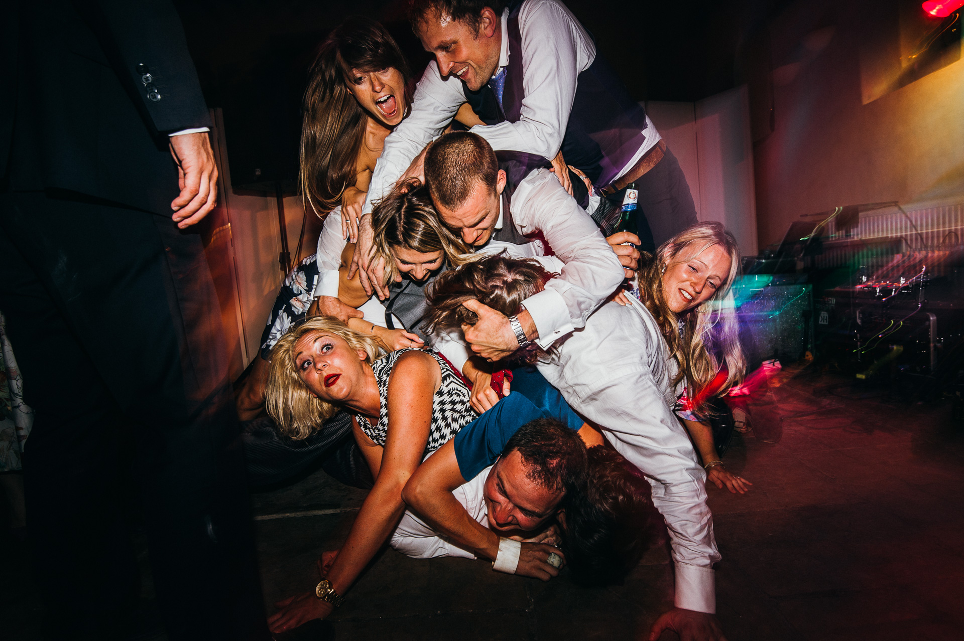 dancing at Sudeley castle wedding