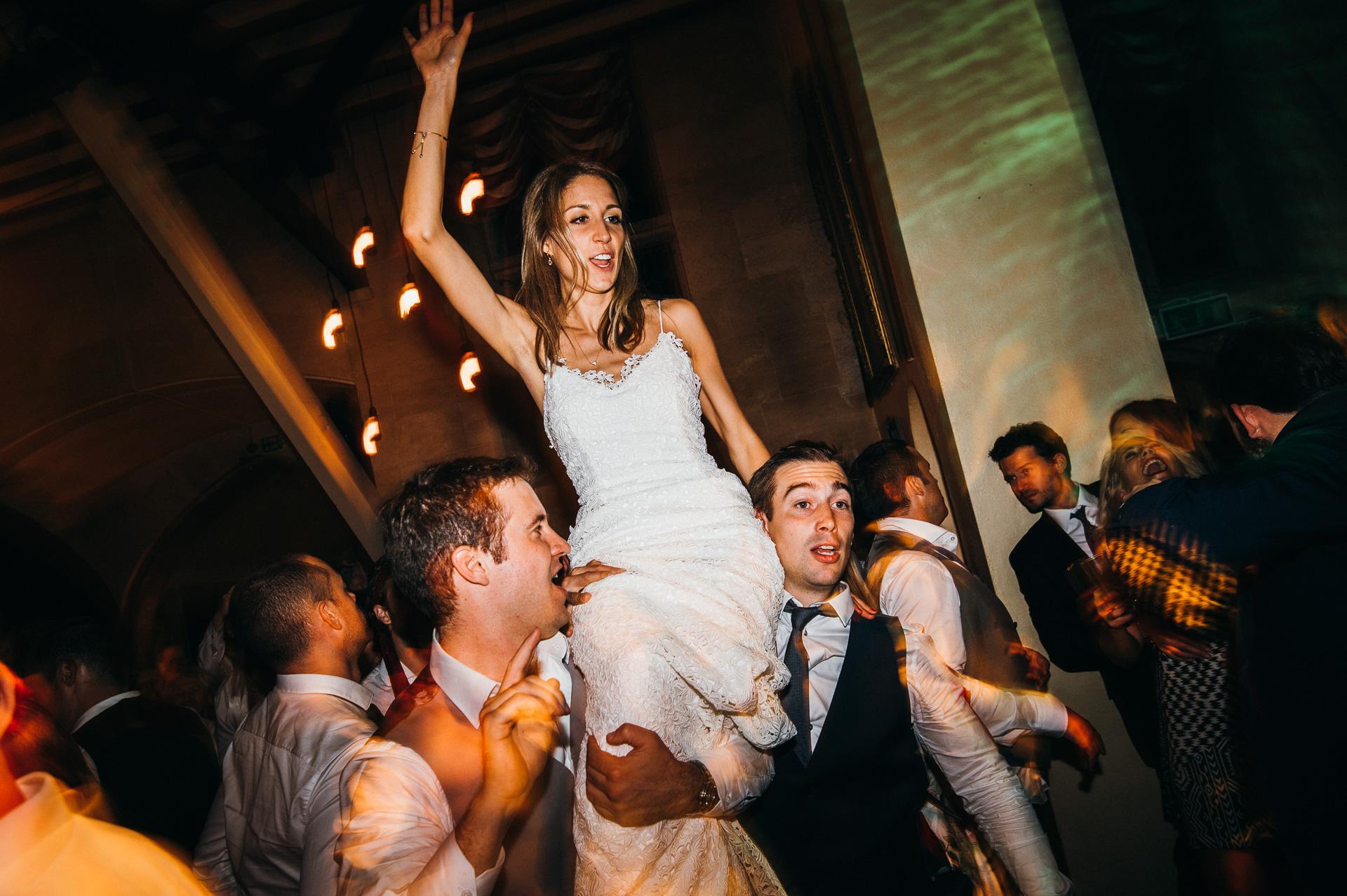 Sudeley castle dancing at wedding