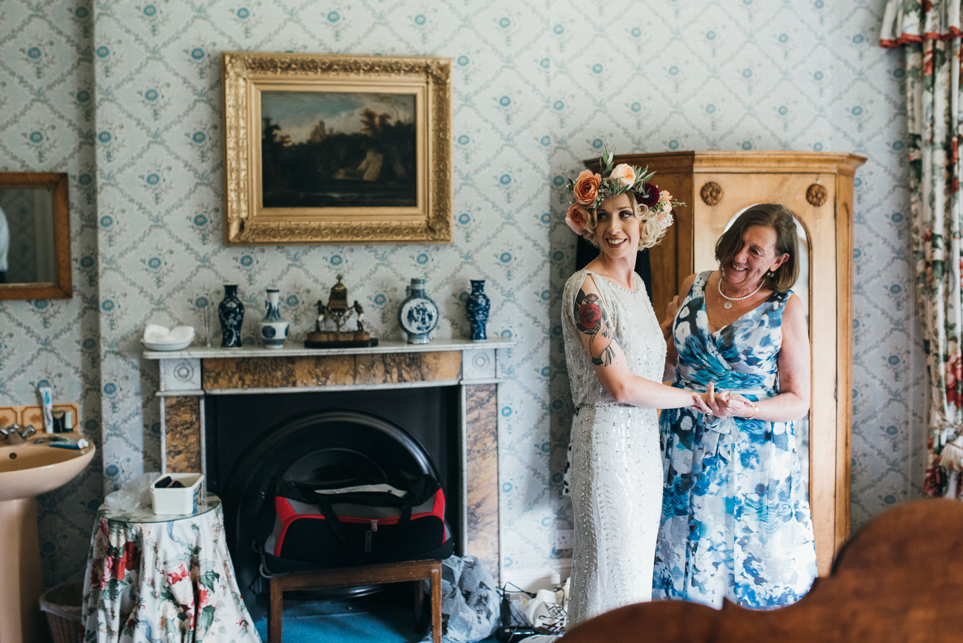 Pennard house wedding photography 20