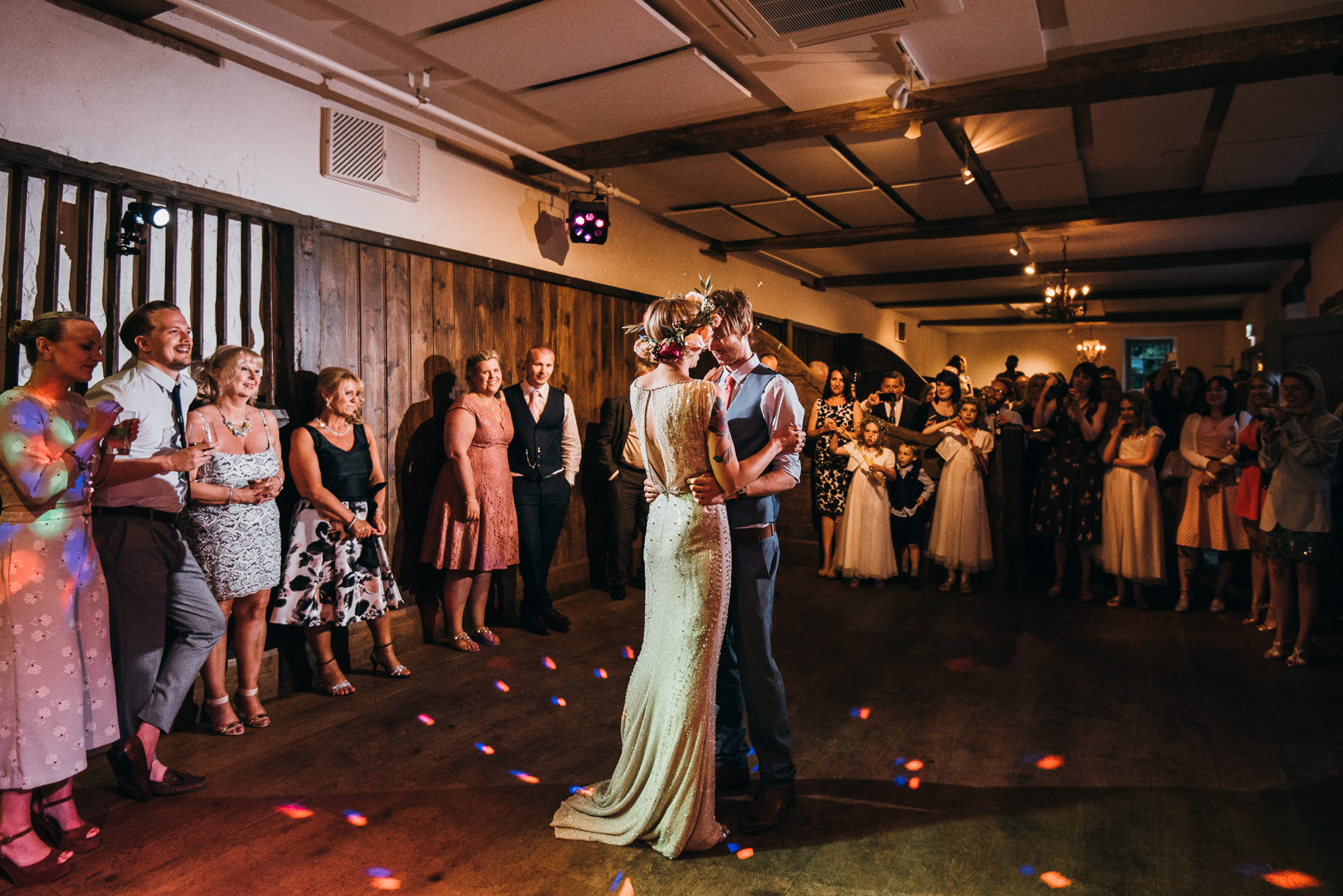 First dance at Pennard house