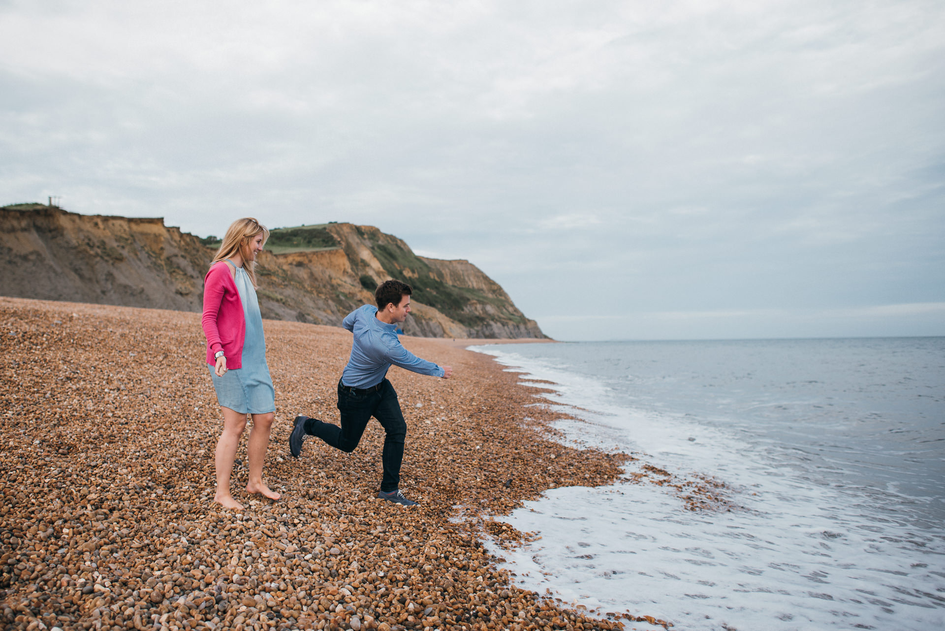 Jurassic coast portrait shoot 17
