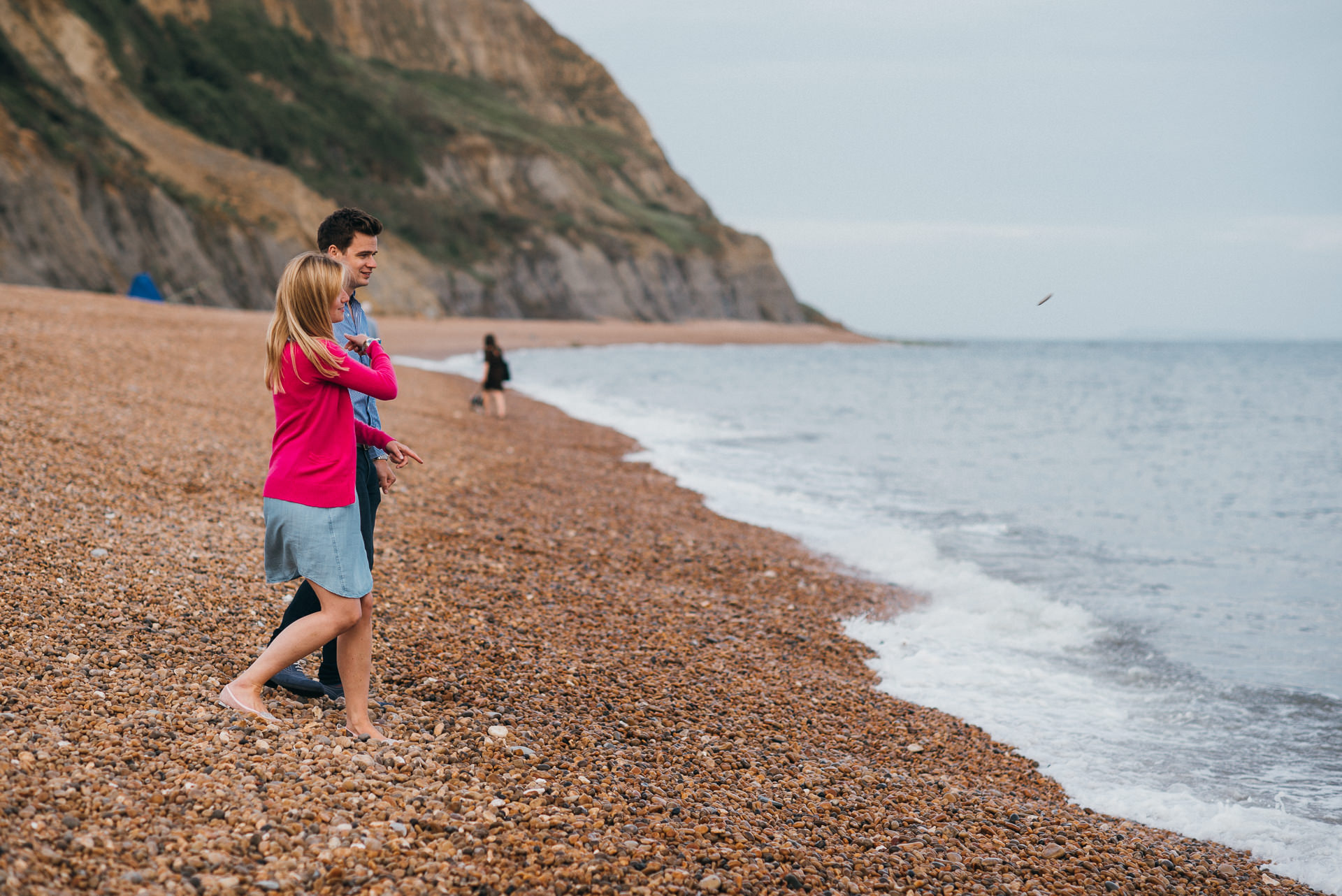 Jurassic coast portrait shoot 18