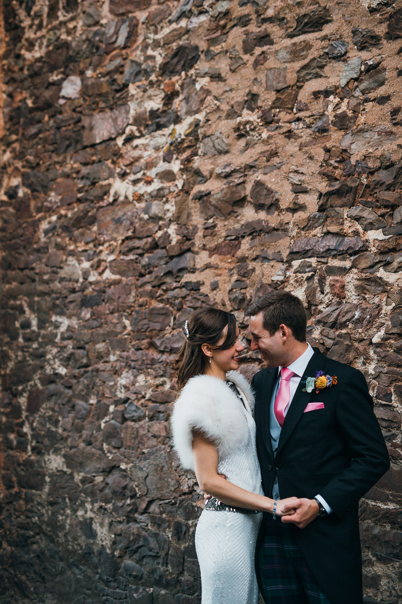 Unposed photography Tithe Barn wedding