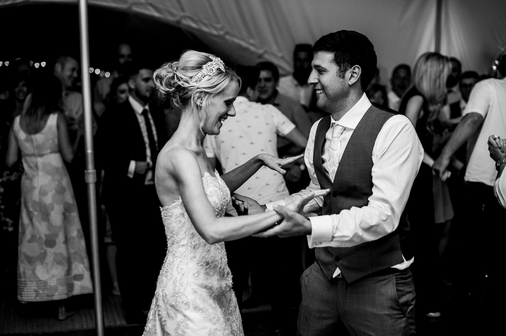 first dance at wedding RHS Wisely