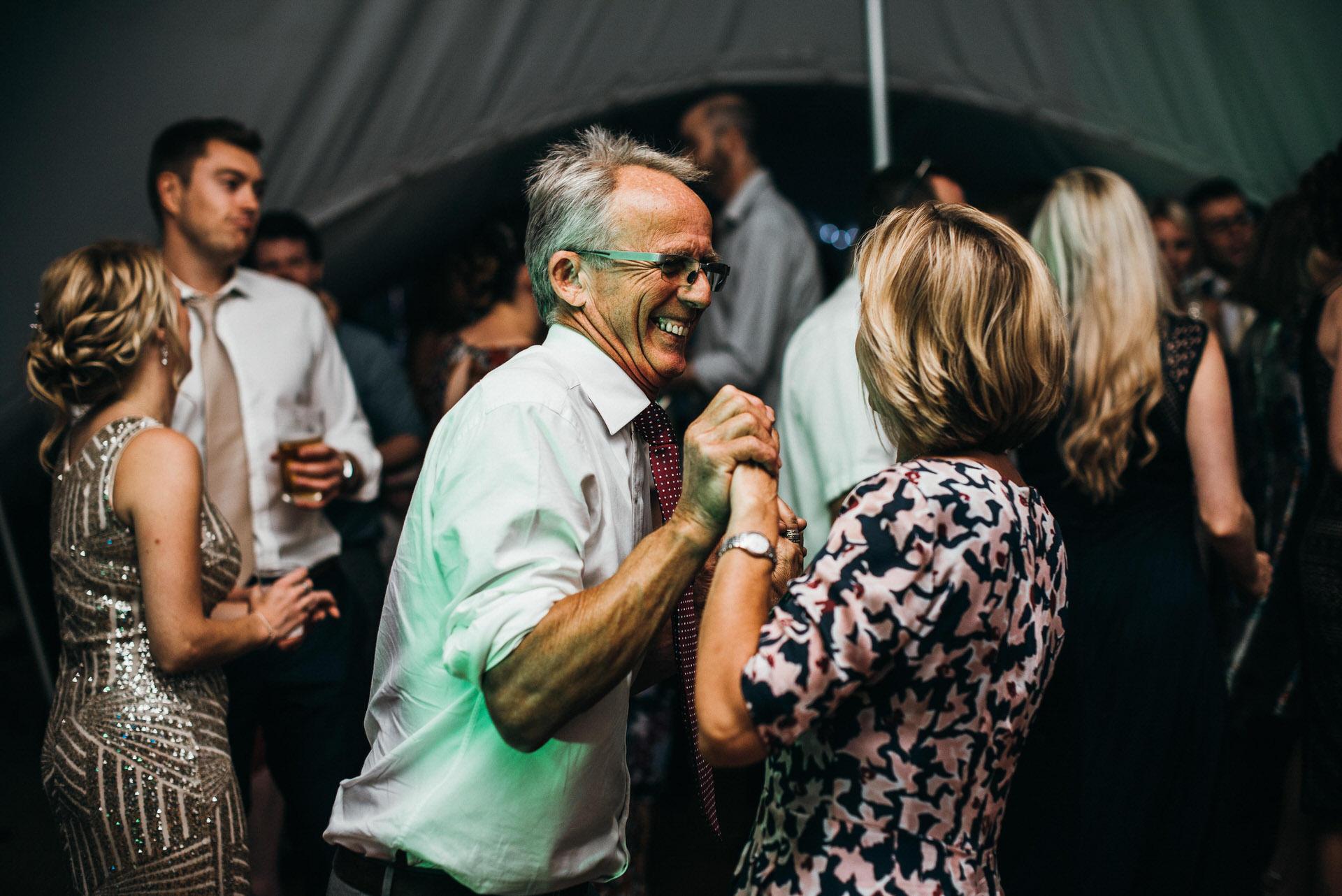 dancing at wedding RHS Wisely