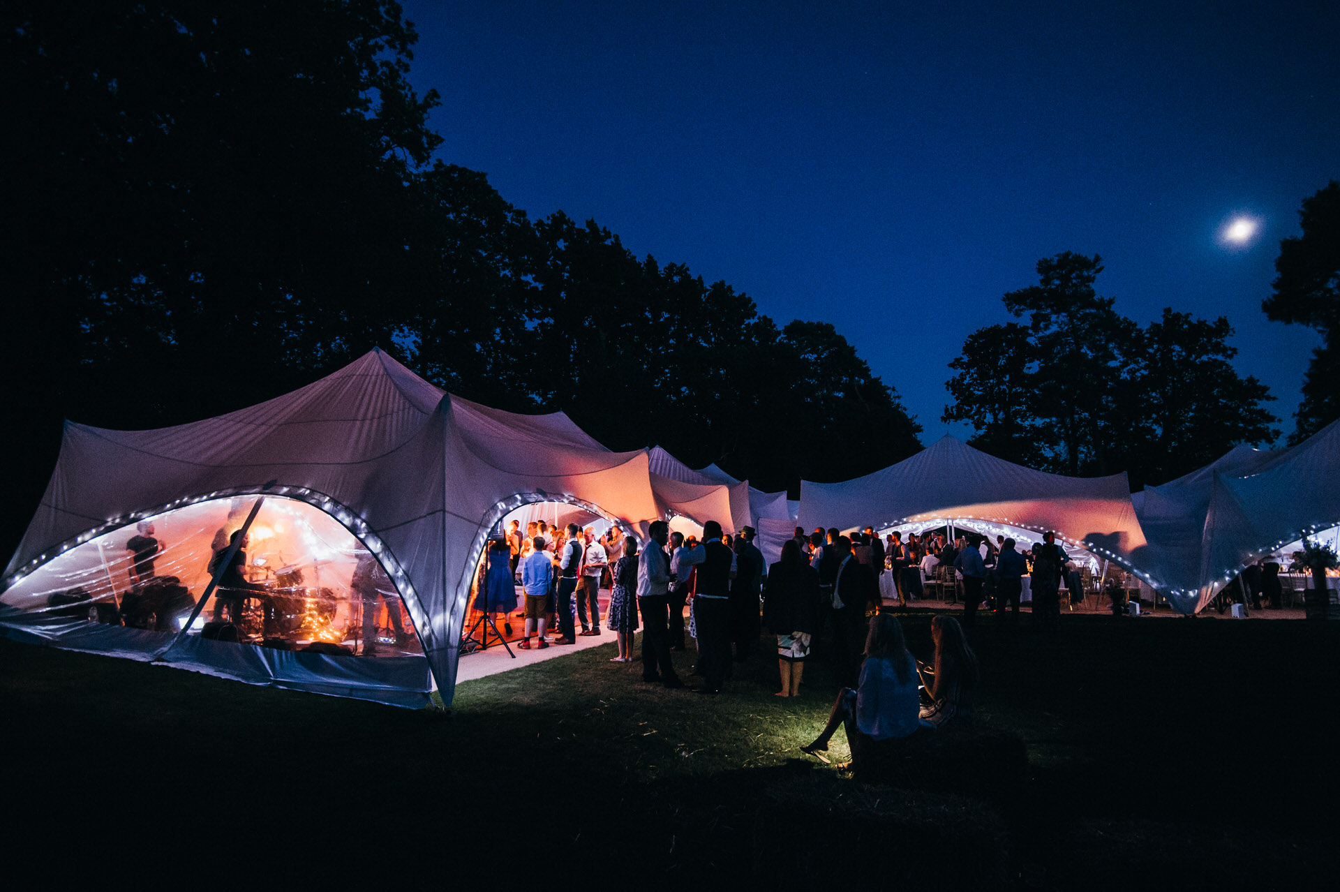 RHS Wisely wedding marquee