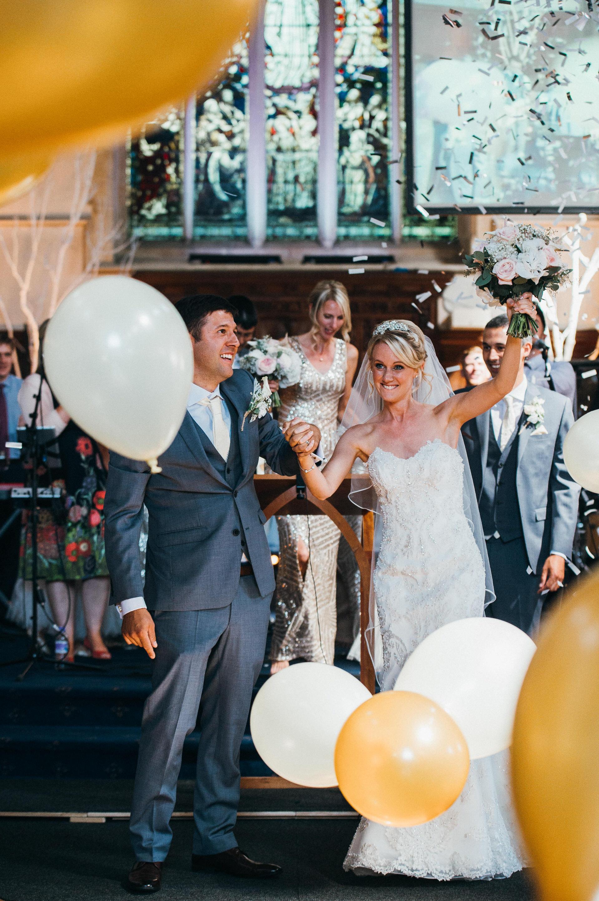 St Saviour's Church Guildford wedding
