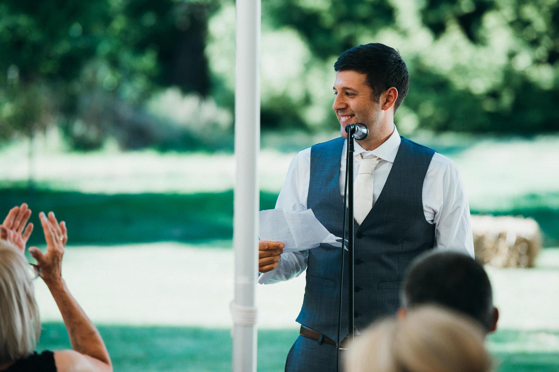 RHS Wisely wedding speech