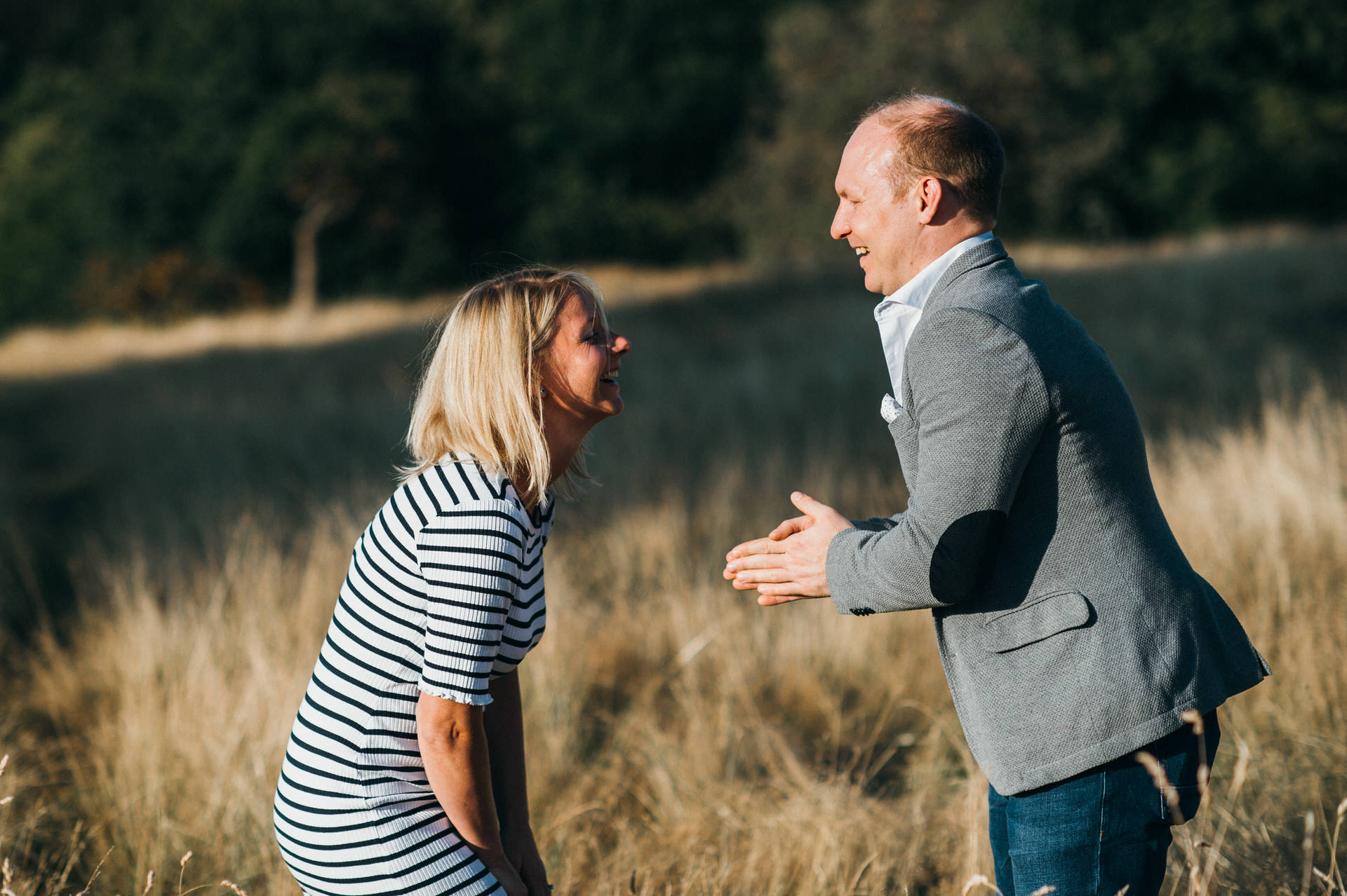 Unposed Engagement photography