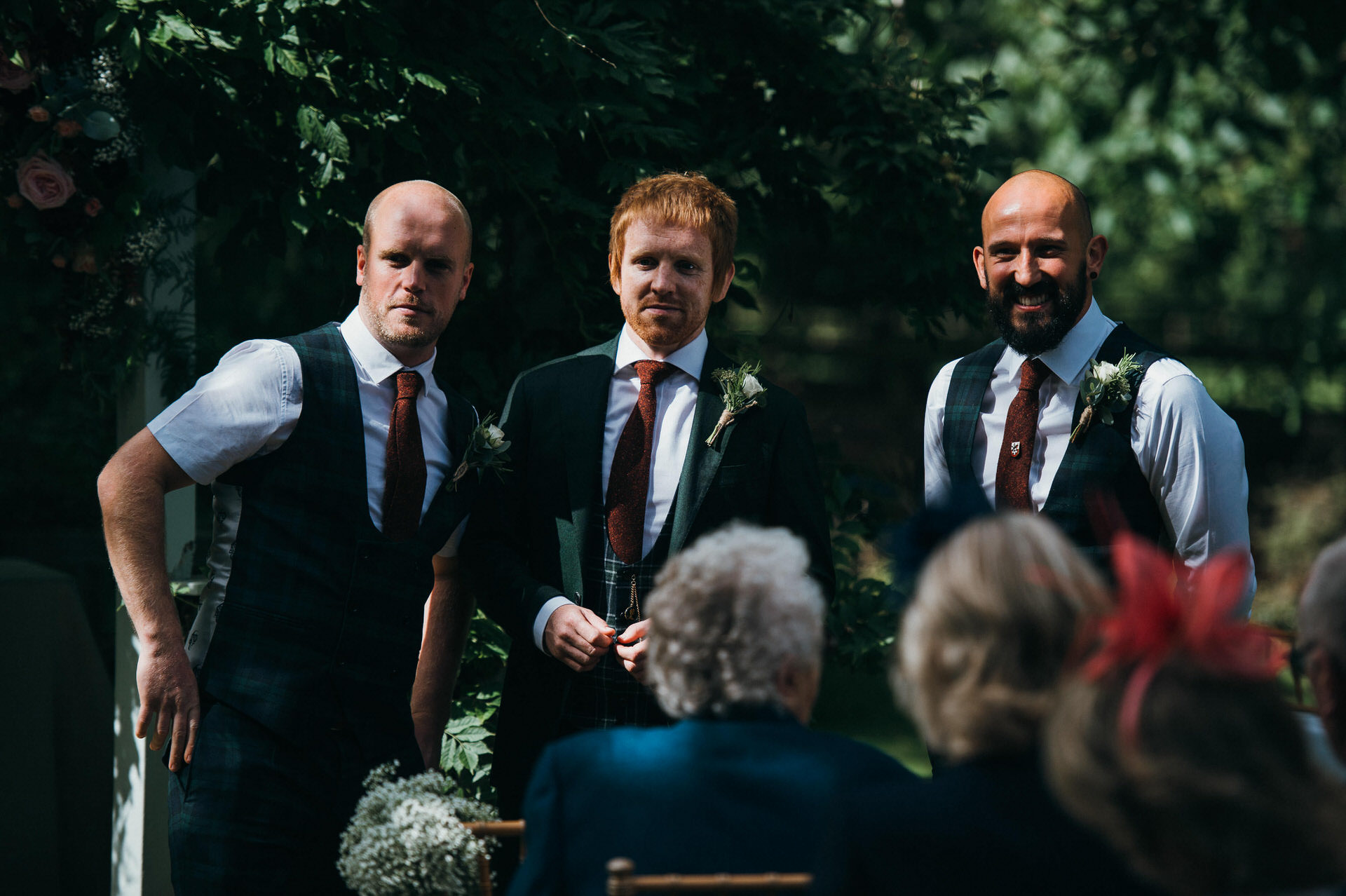 Maunsel house wedding photography 18 outdoor ceremony