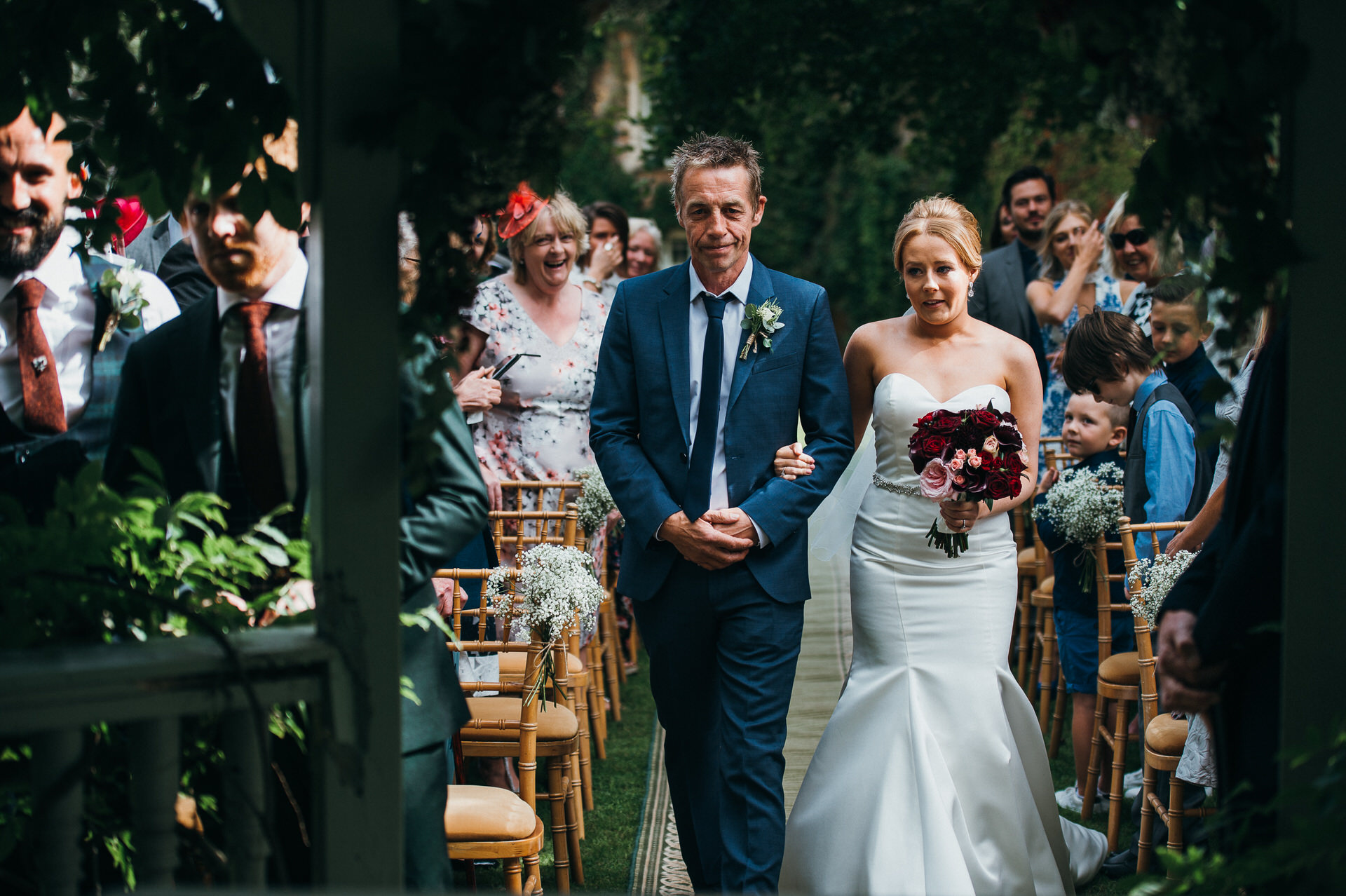 Maunsel house wedding photography 20 outdoor ceremony
