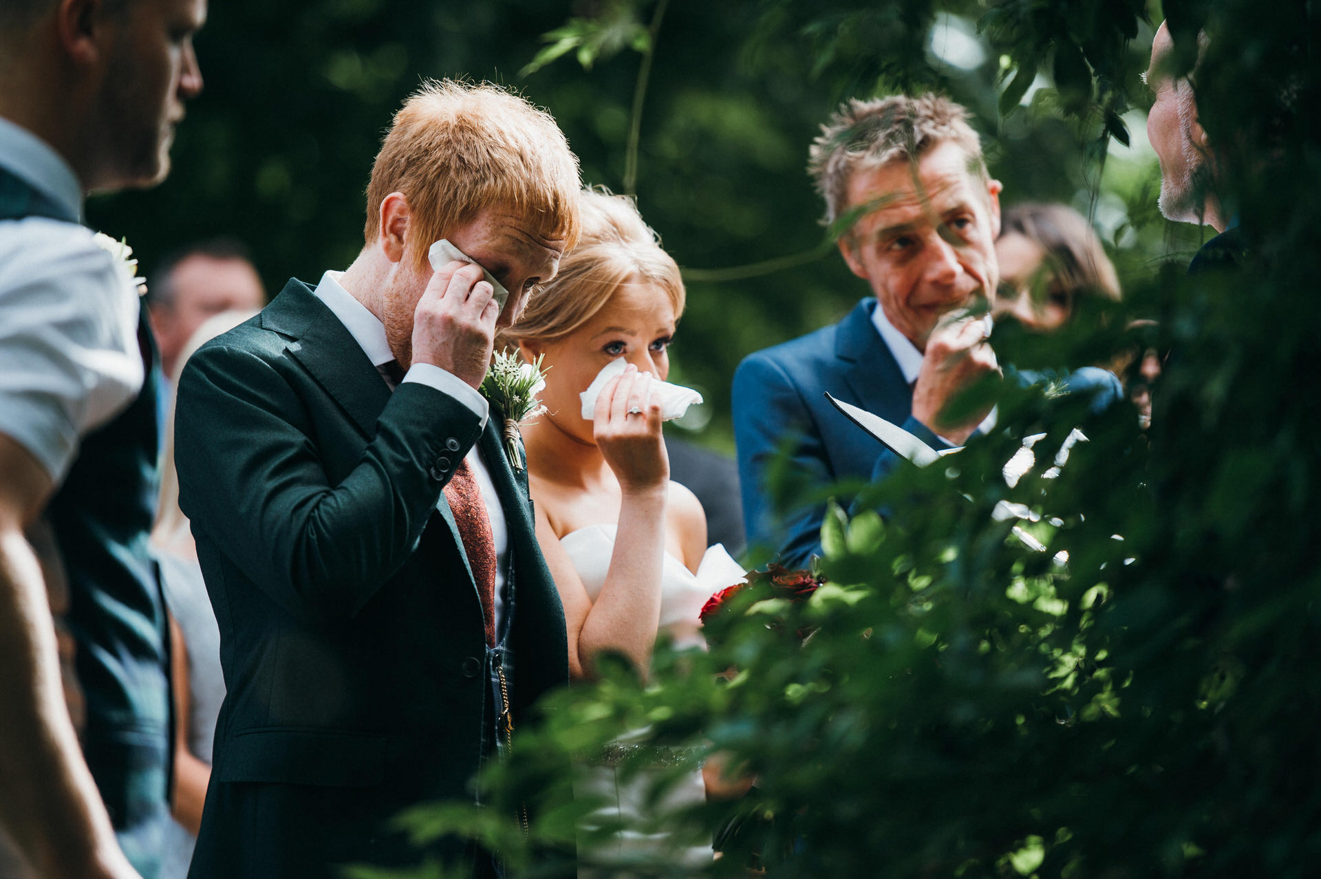 Maunsel house wedding photography 21 outdoor ceremony
