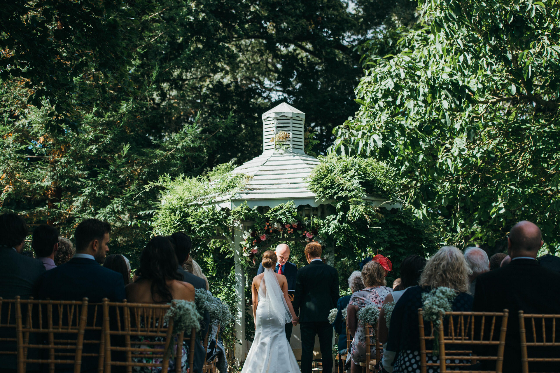 Maunsel house wedding photography 23 outdoor ceremony