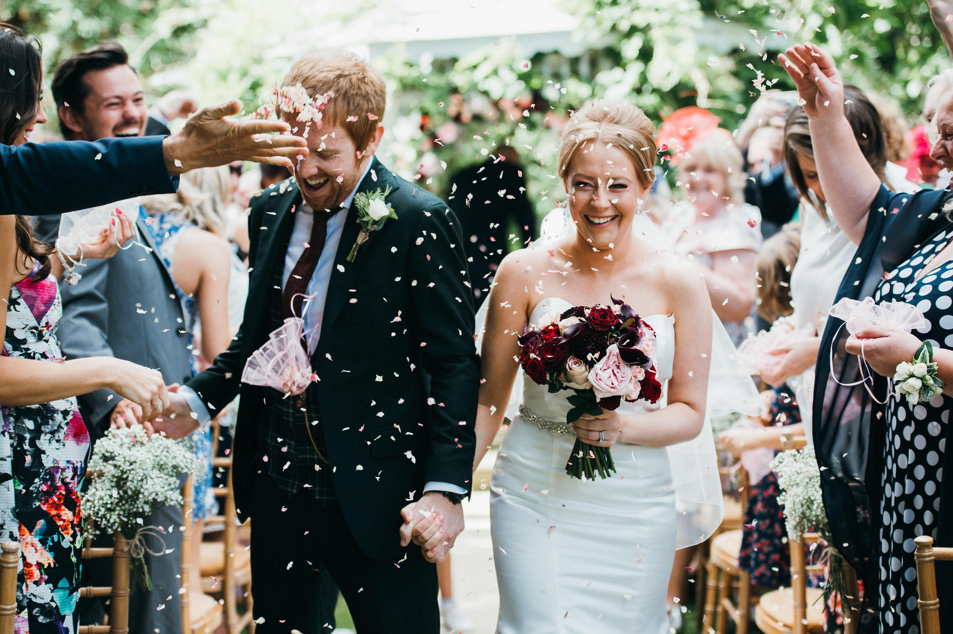 Maunsel house wedding photography 25 outdoor ceremony