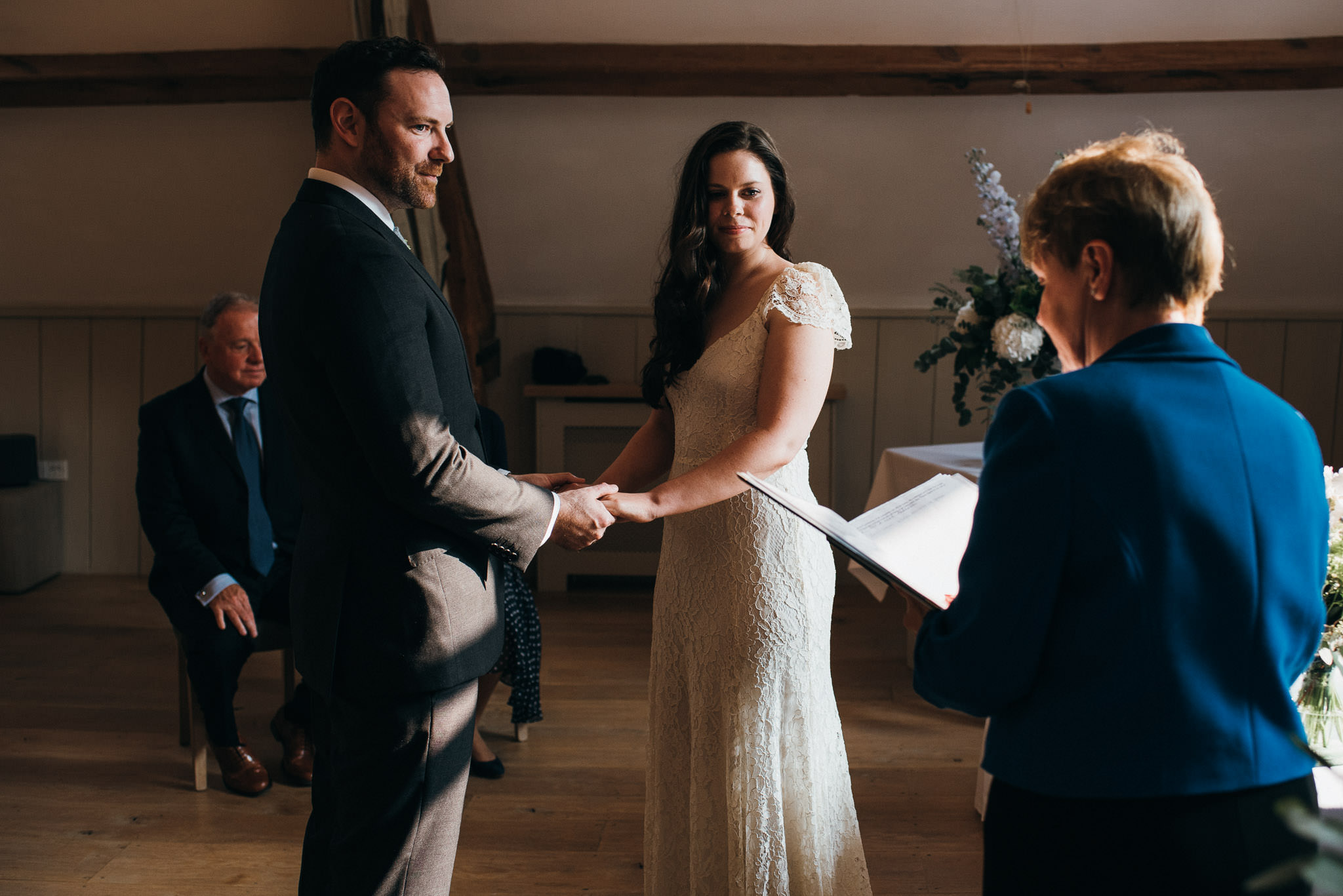 Elopement wedding ceremony | Thyme Hotel