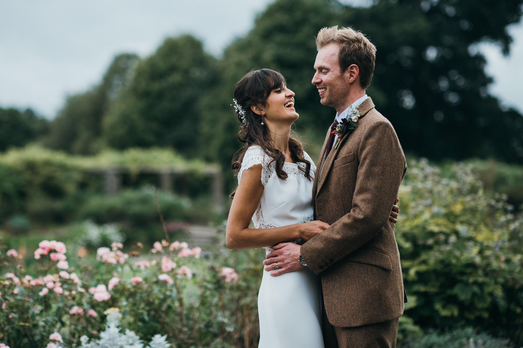 Bride and Groom at Hestercombe Gardens