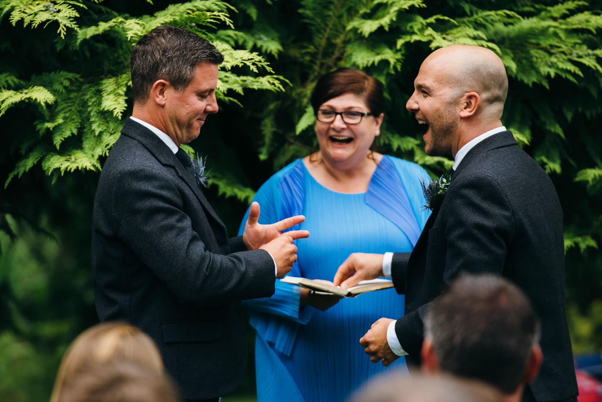 Tonedale house gay wedding ceremony