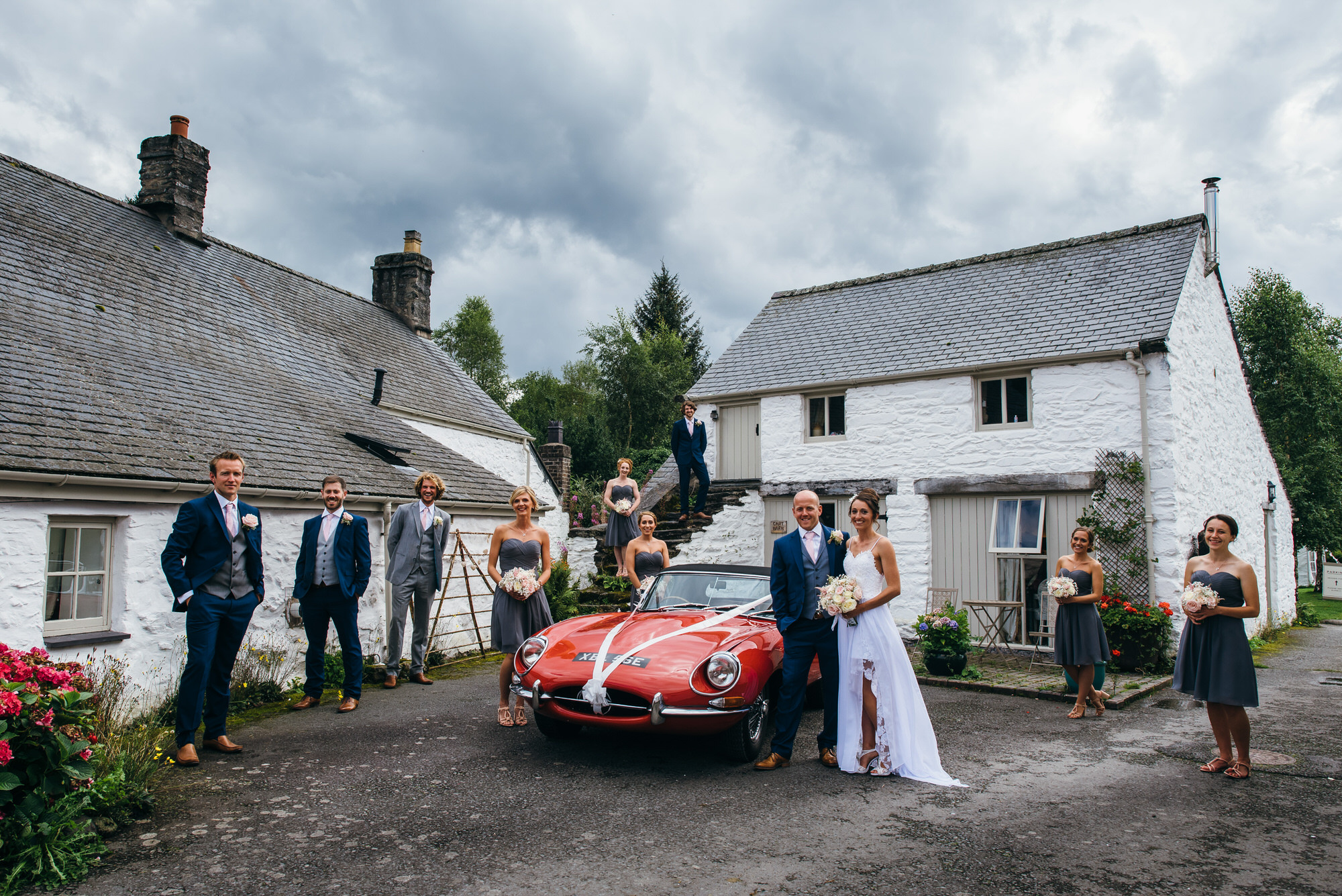 Hafod farm wedding photography035