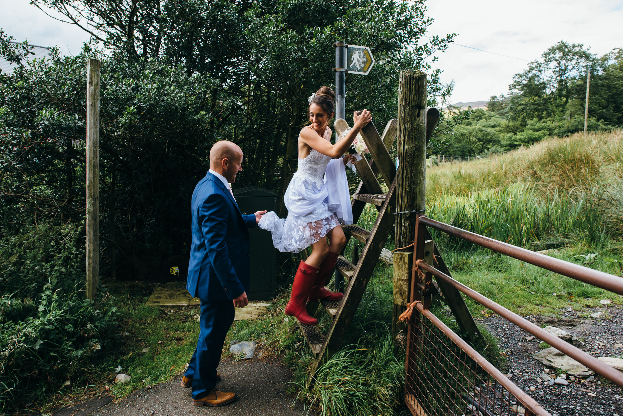 Hafod farm wedding photography036