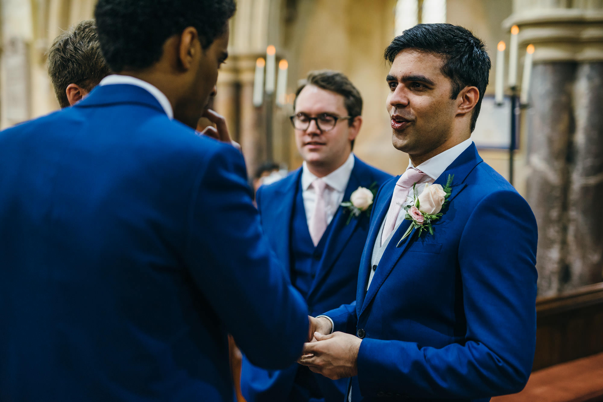 Groom at St Audries church