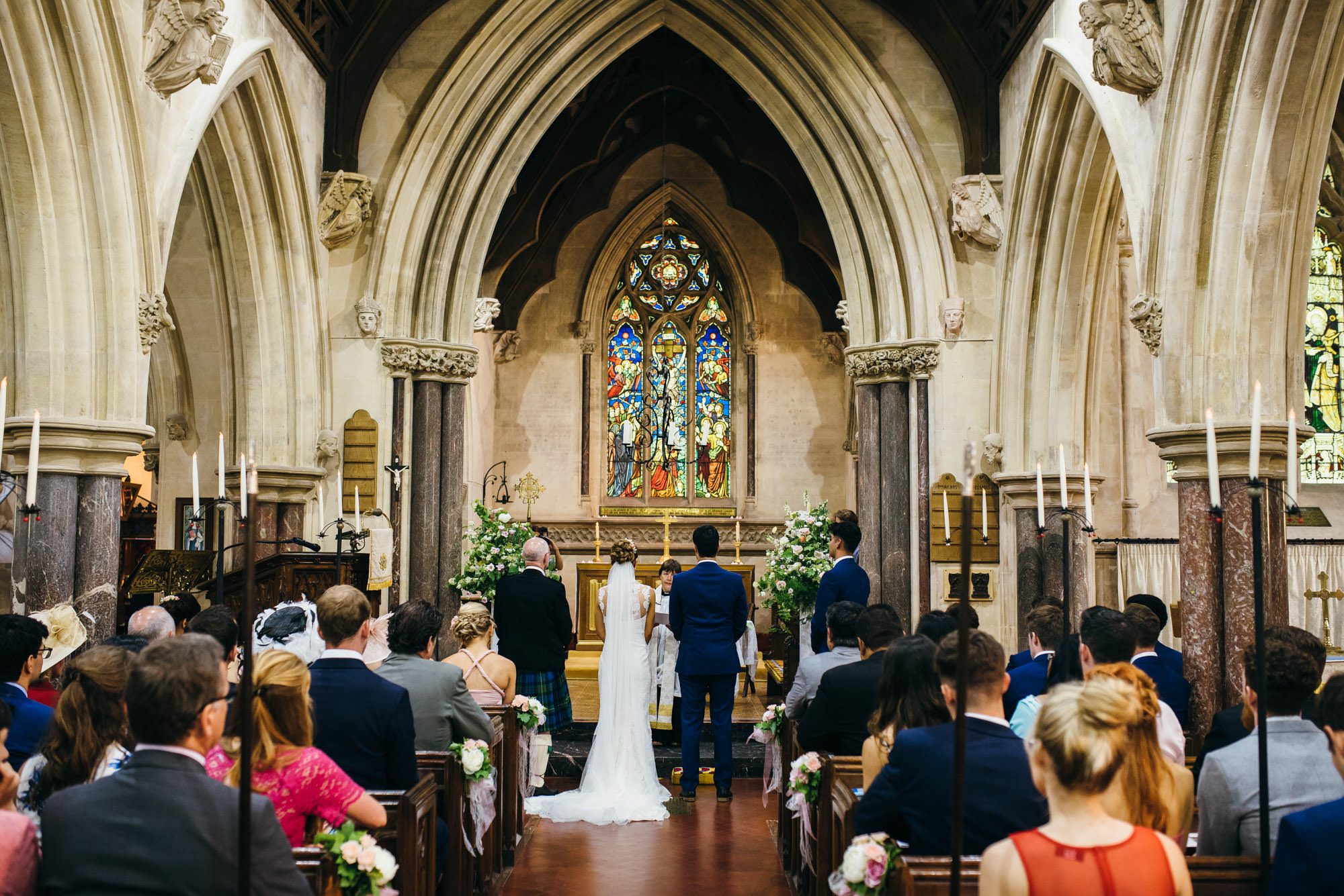 St Audries Park church wedding