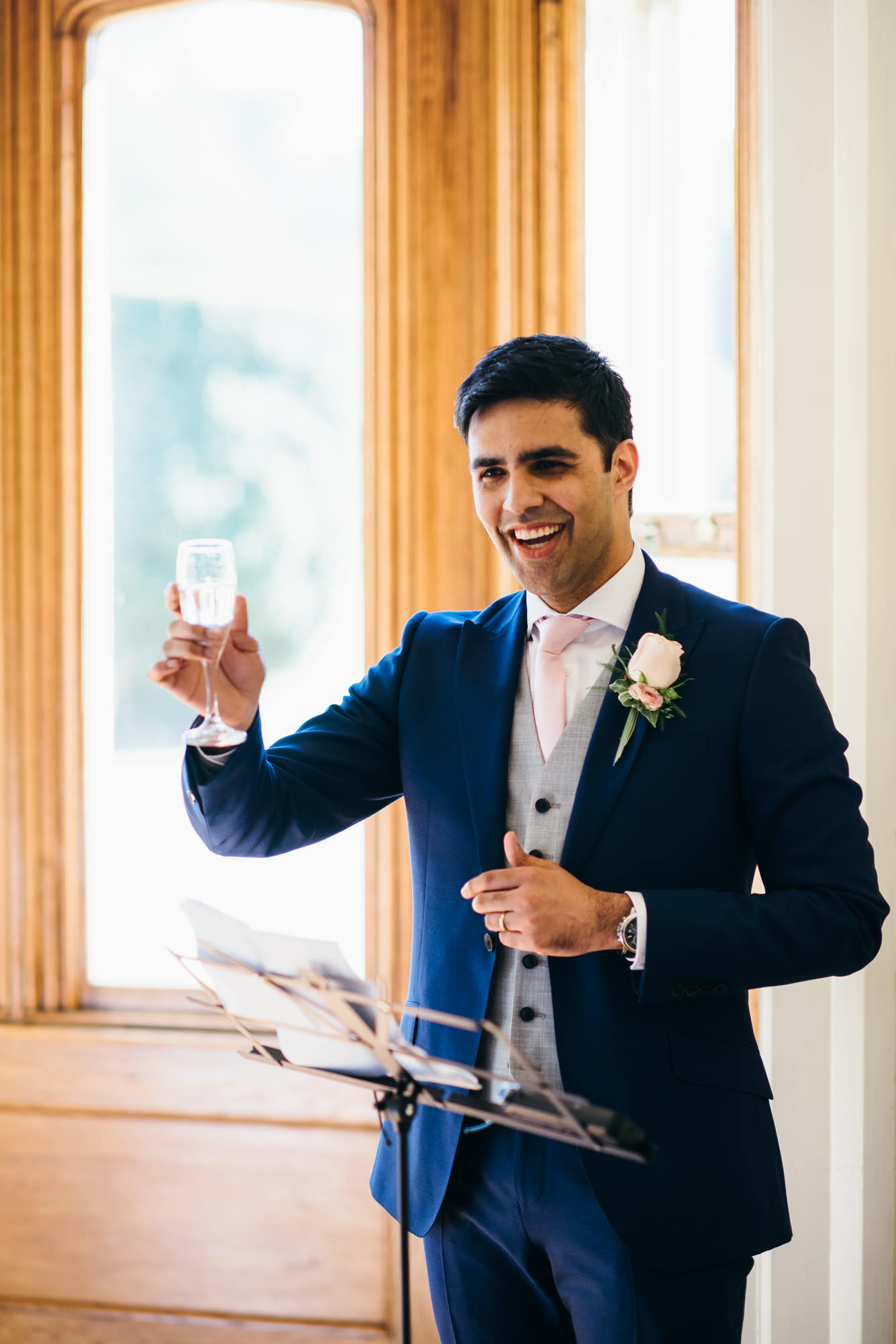 Wedding speech groom