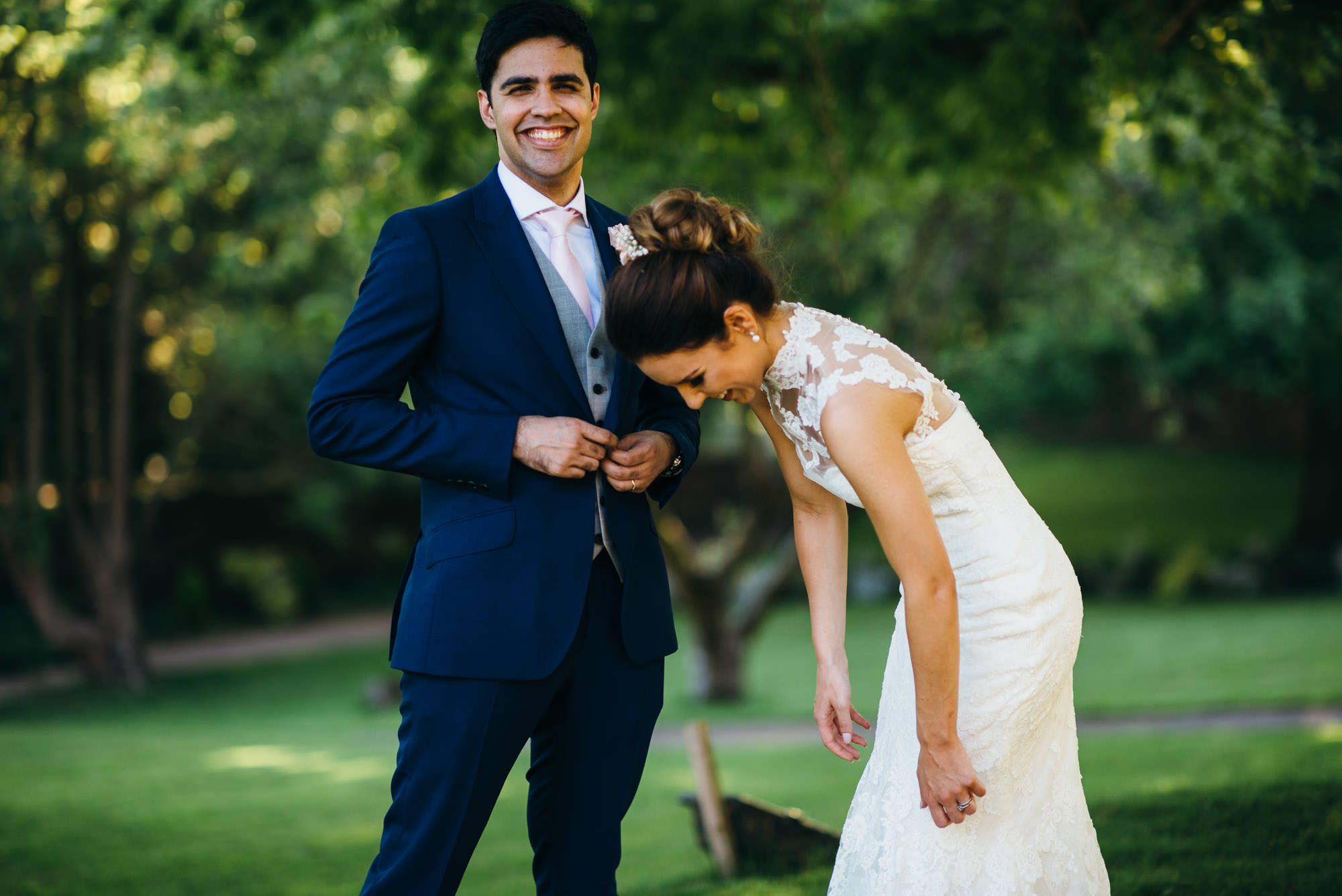 Unposed St Audries Park wedding photographer