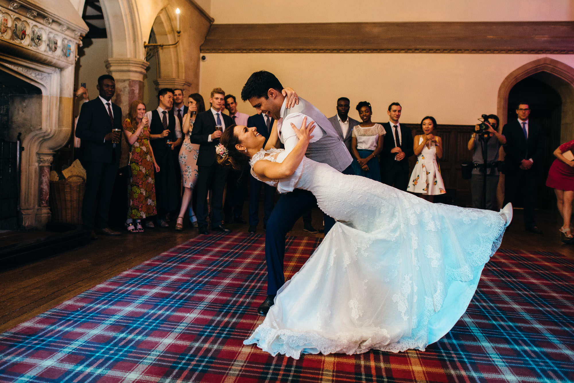 St Audries park wedding first dance