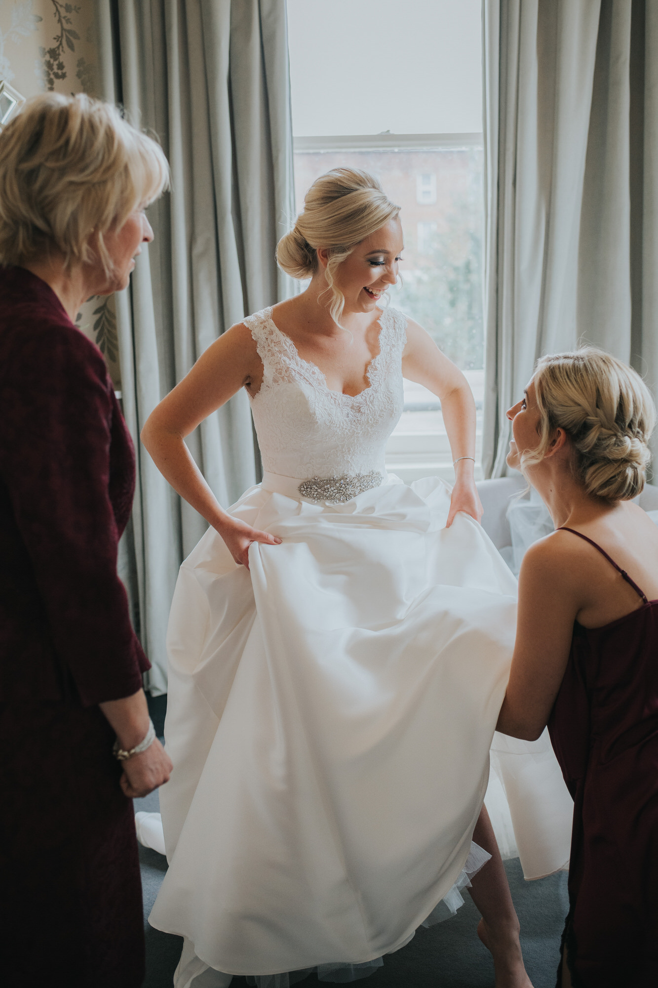 Morden hall wedding photography 036