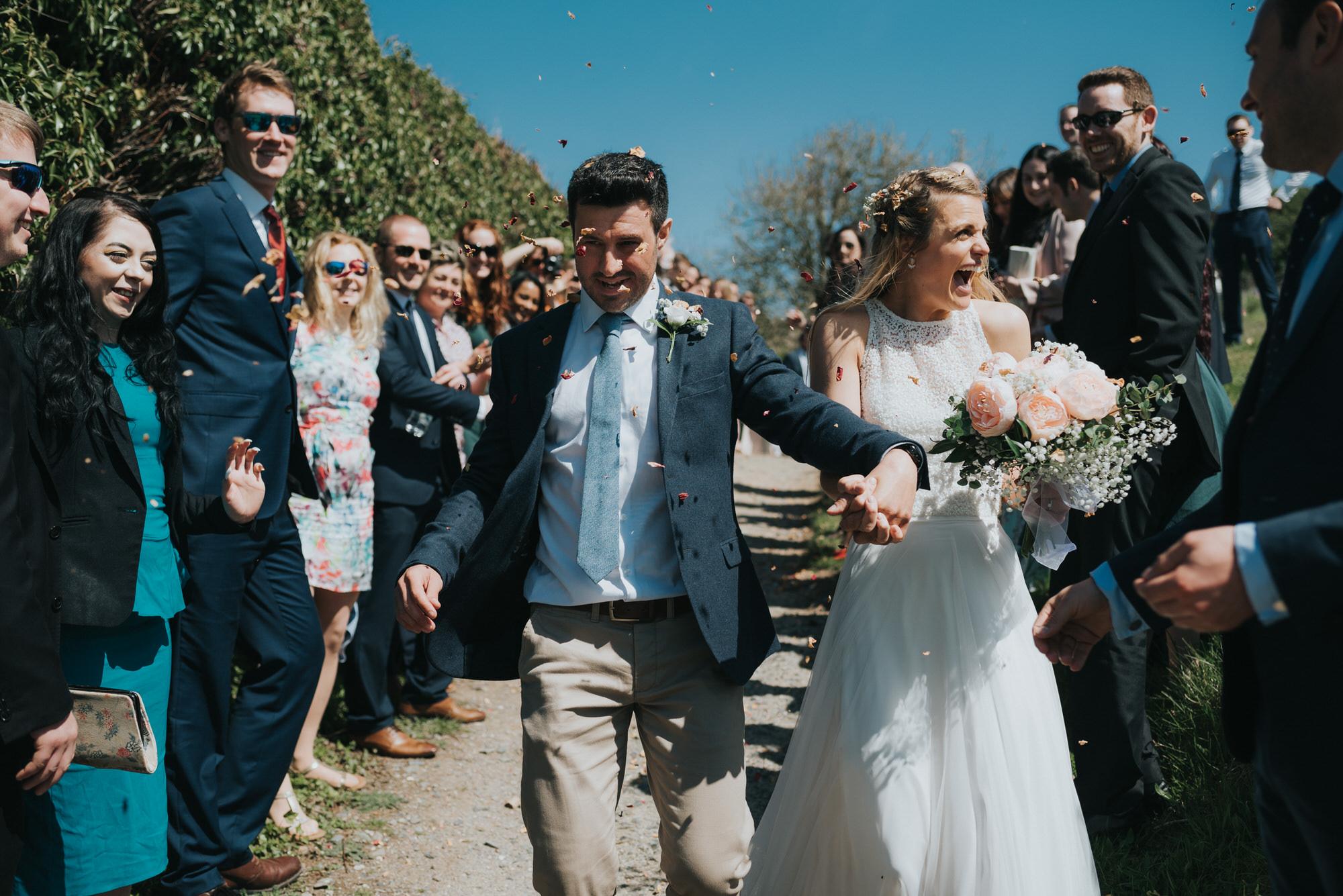Roscarrock farm wedding photography 12-2