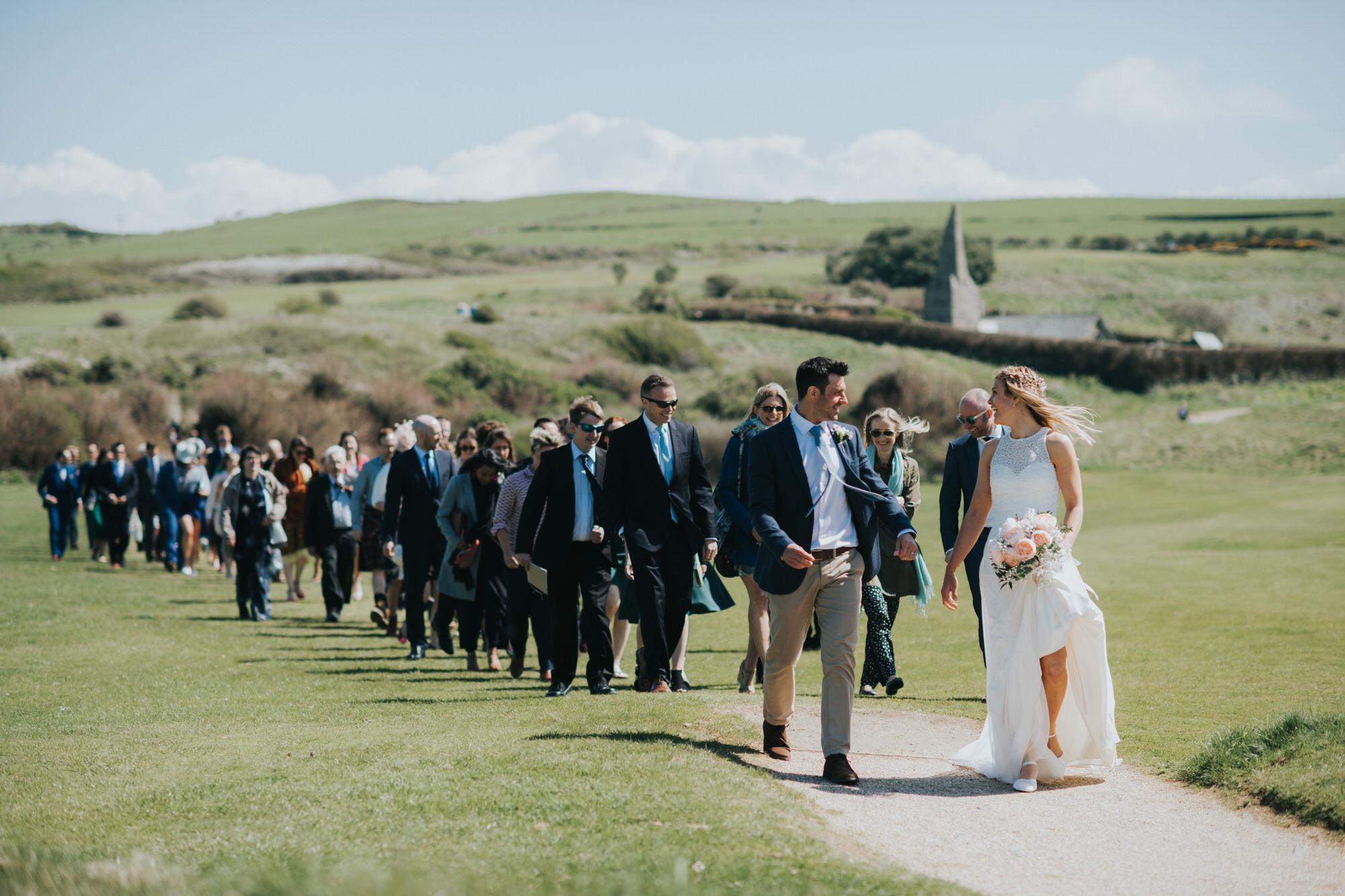 Roscarrock farm wedding photography 13-2
