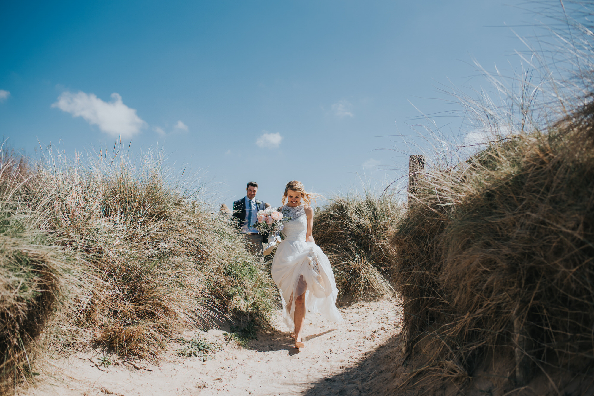 Roscarrock farm wedding photography 14-2