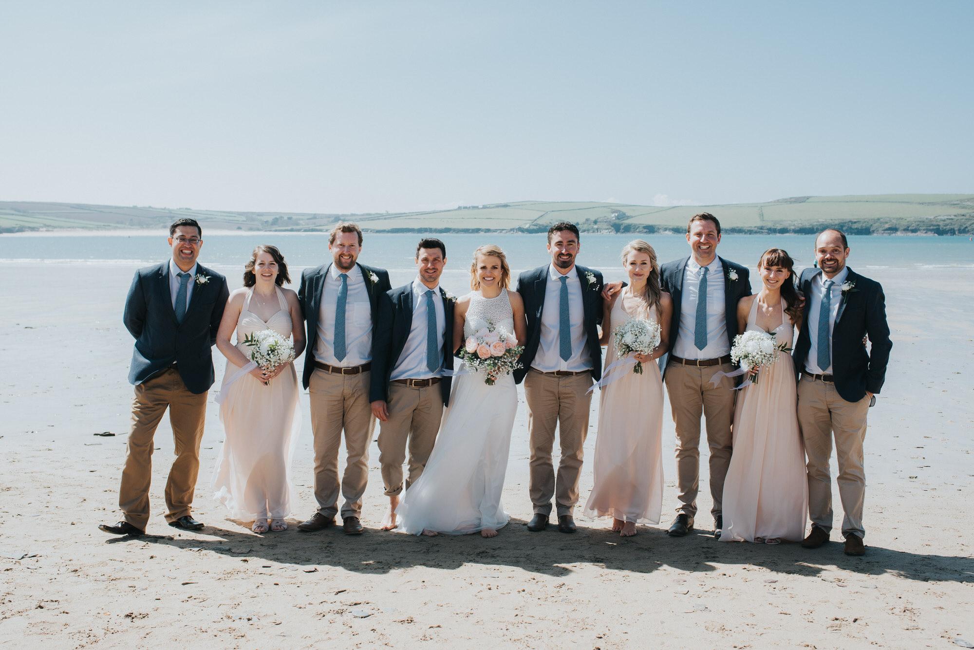 Roscarrock farm wedding photography 15-2