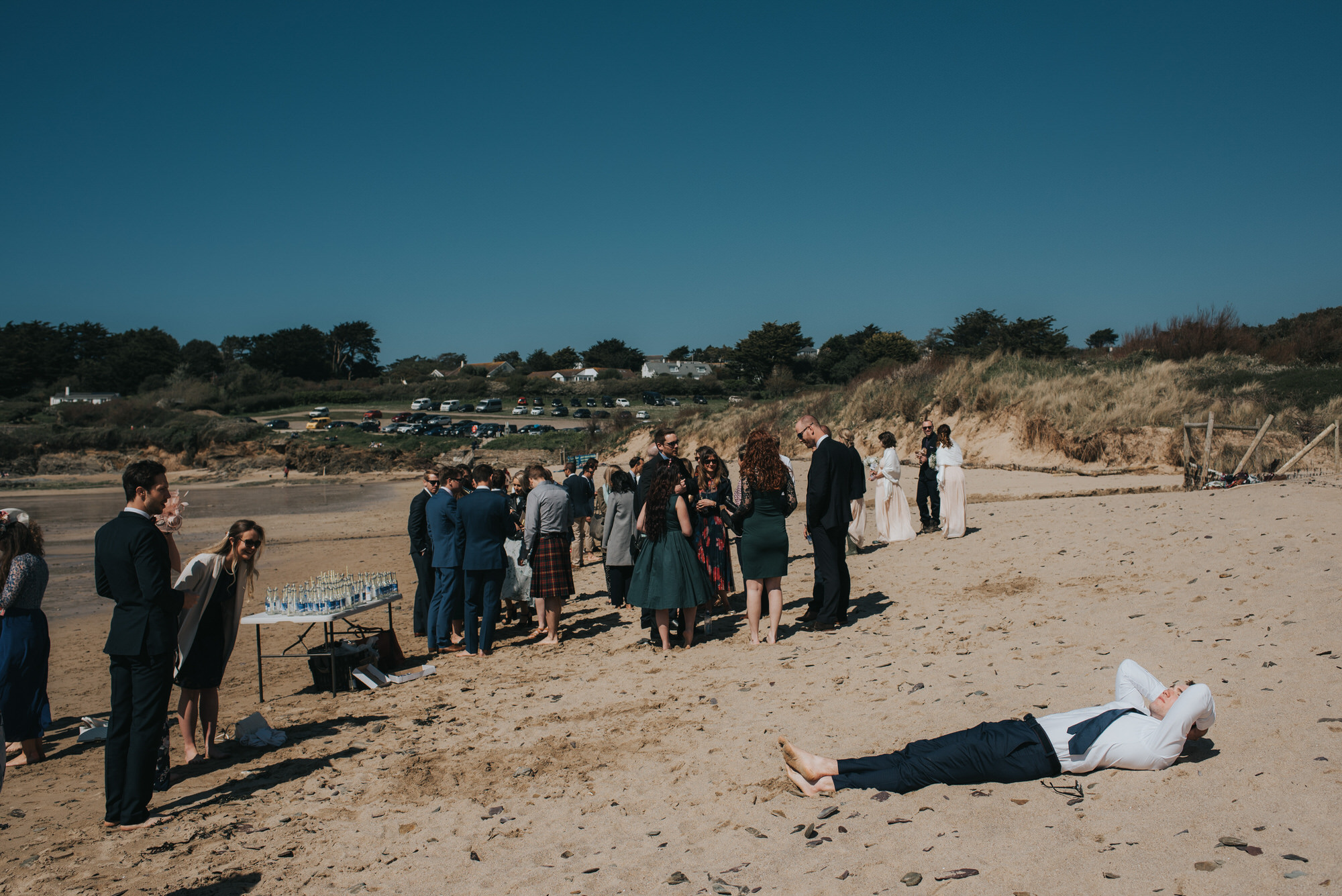 Roscarrock farm wedding photography 16-2