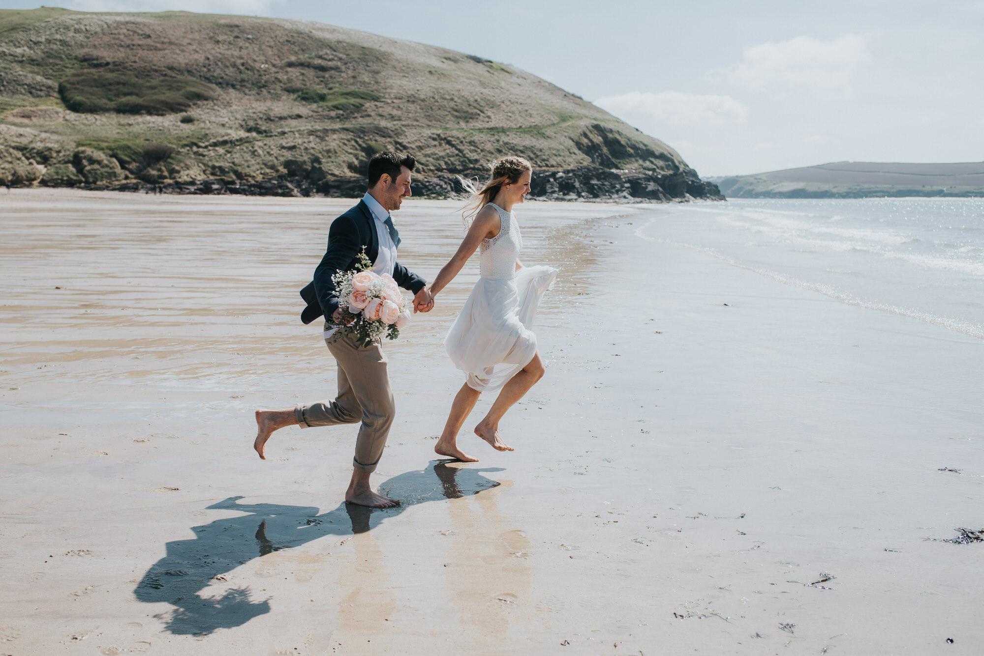 Roscarrock farm wedding photography 17-2