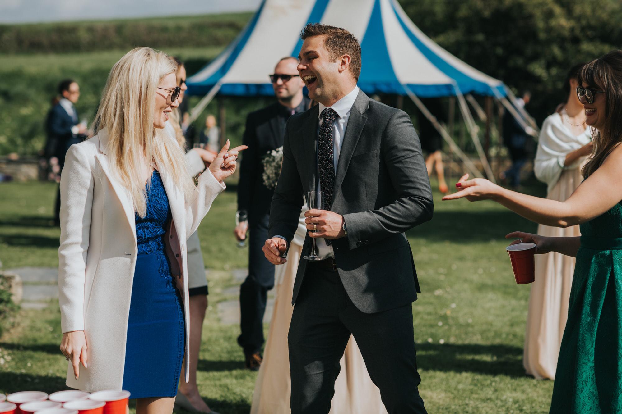 Roscarrock farm wedding photography 24-2