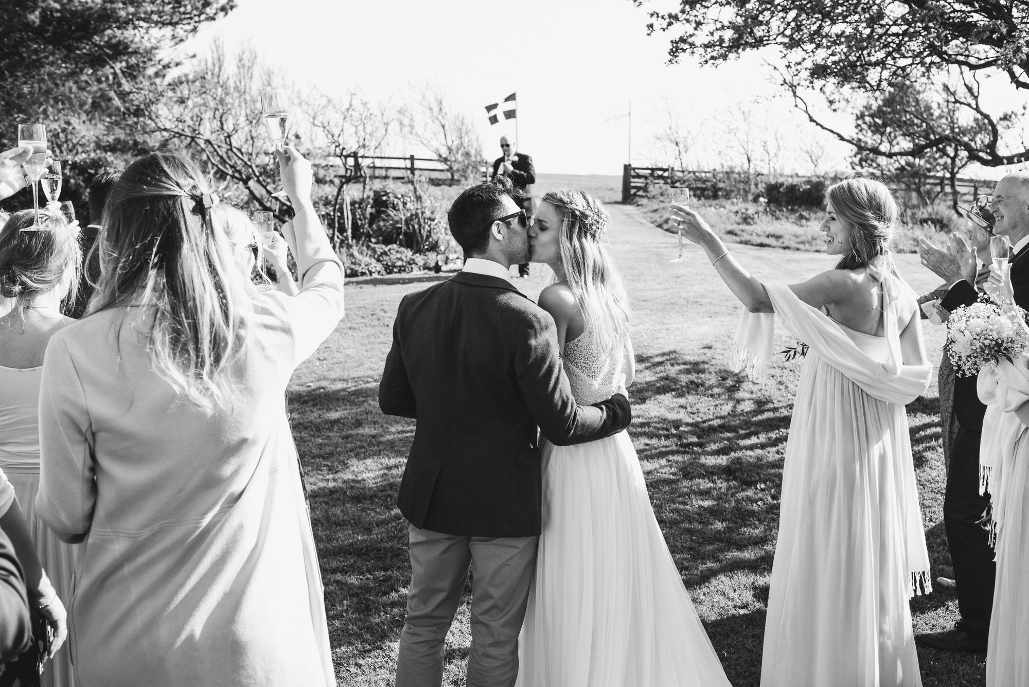 Roscarrock farm wedding photography 28-2
