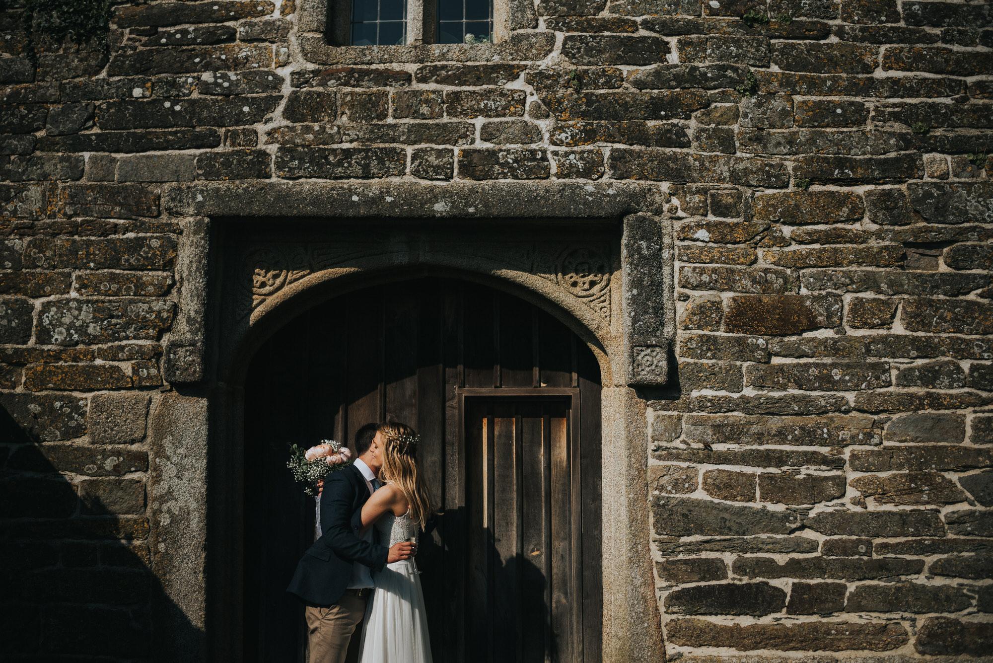 Roscarrock farm wedding photography 29-2