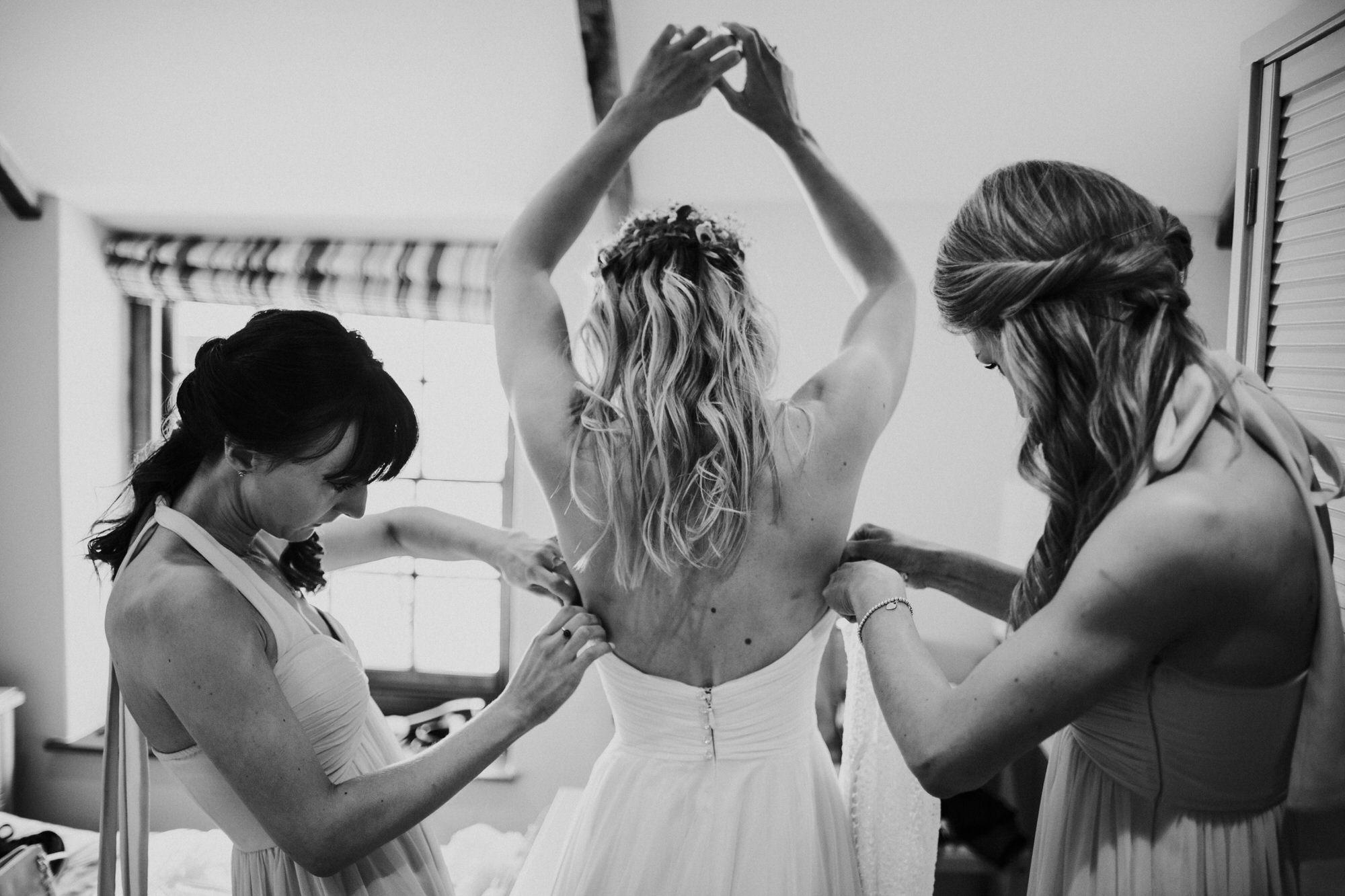 Roscarrock farm wedding photography 4-2