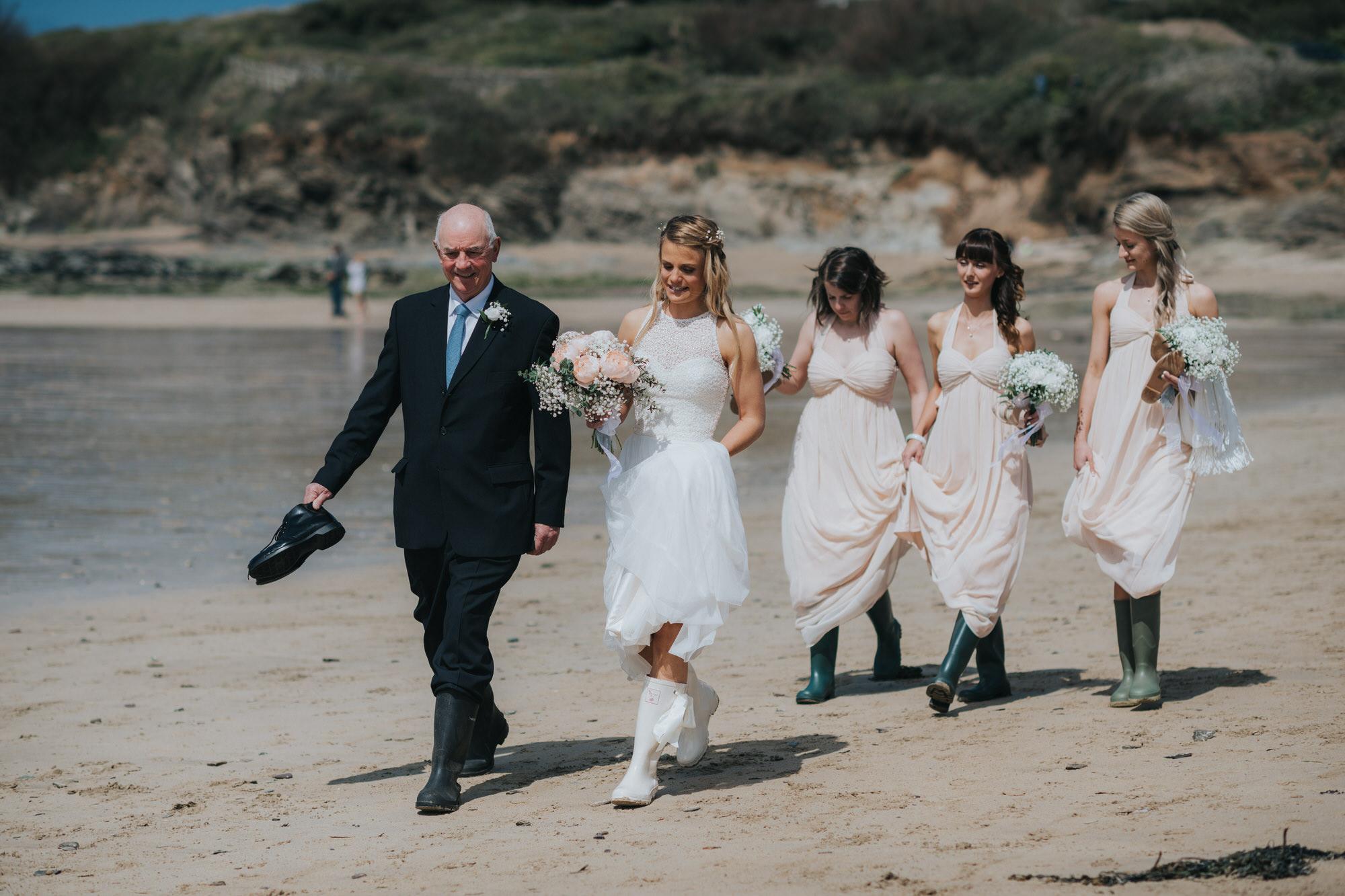 Roscarrock farm wedding photography 7-2