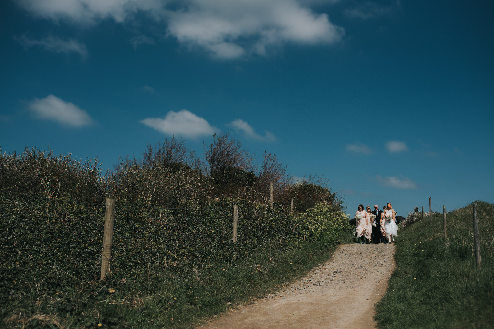 Roscarrock farm wedding photography 8-2