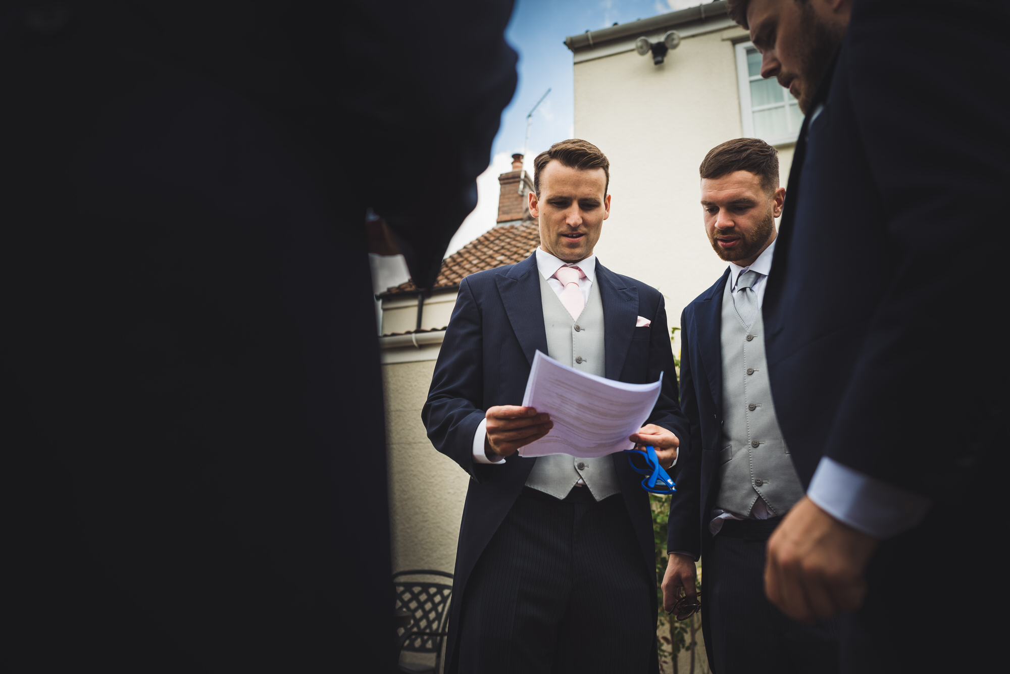 Groom prep wedding photography 1