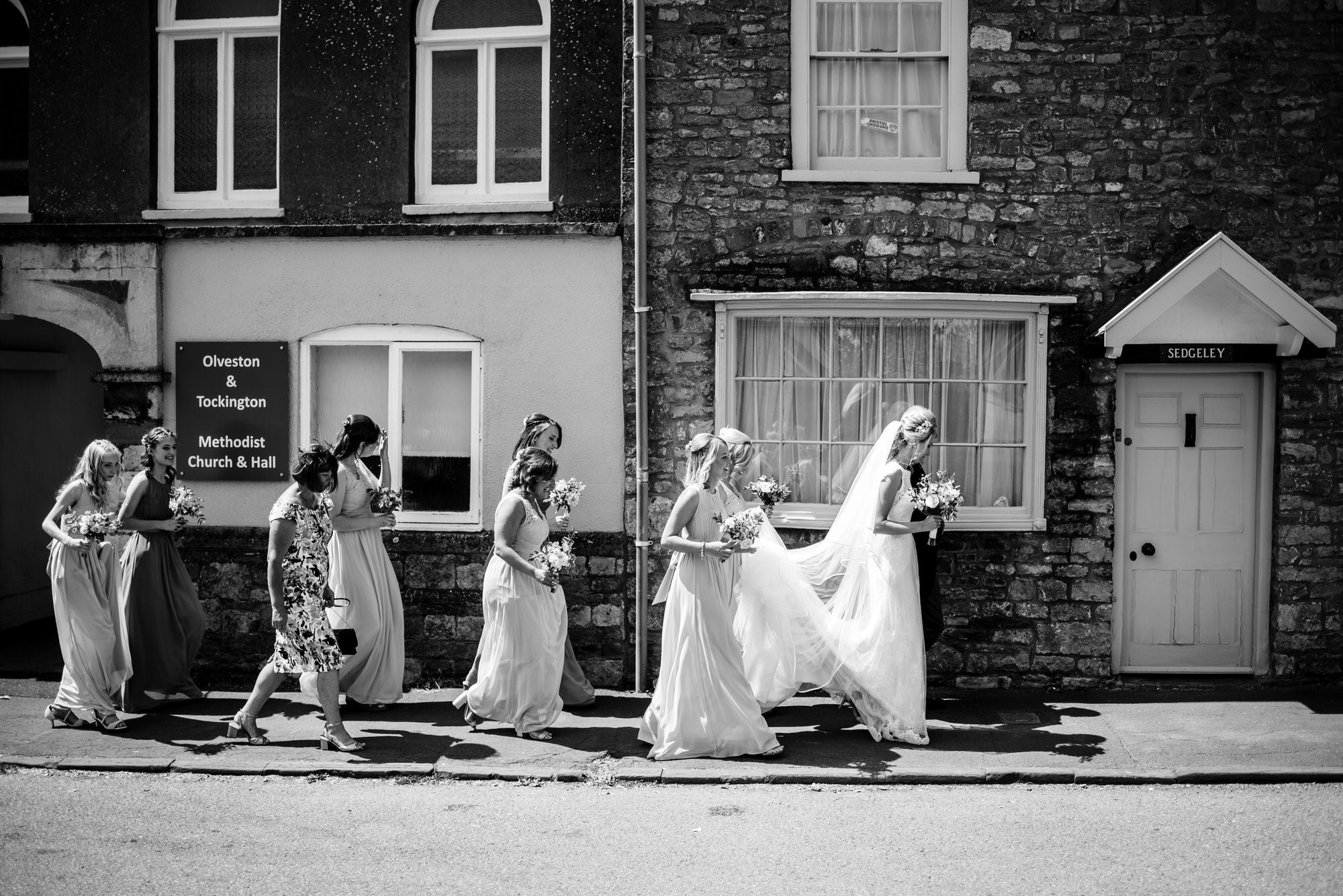 St marys church olveston wedding 6