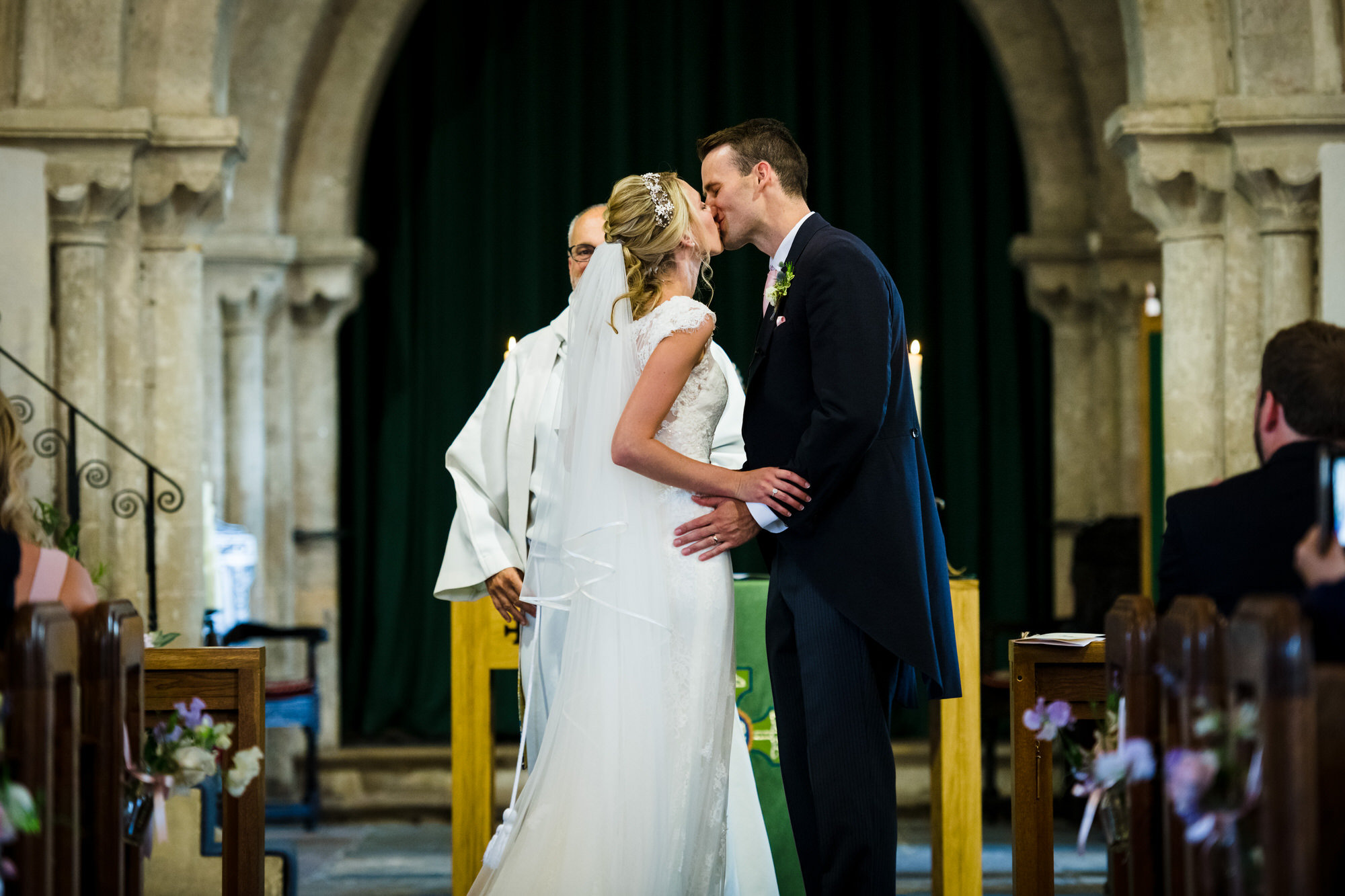 St marys church olveston wedding 9