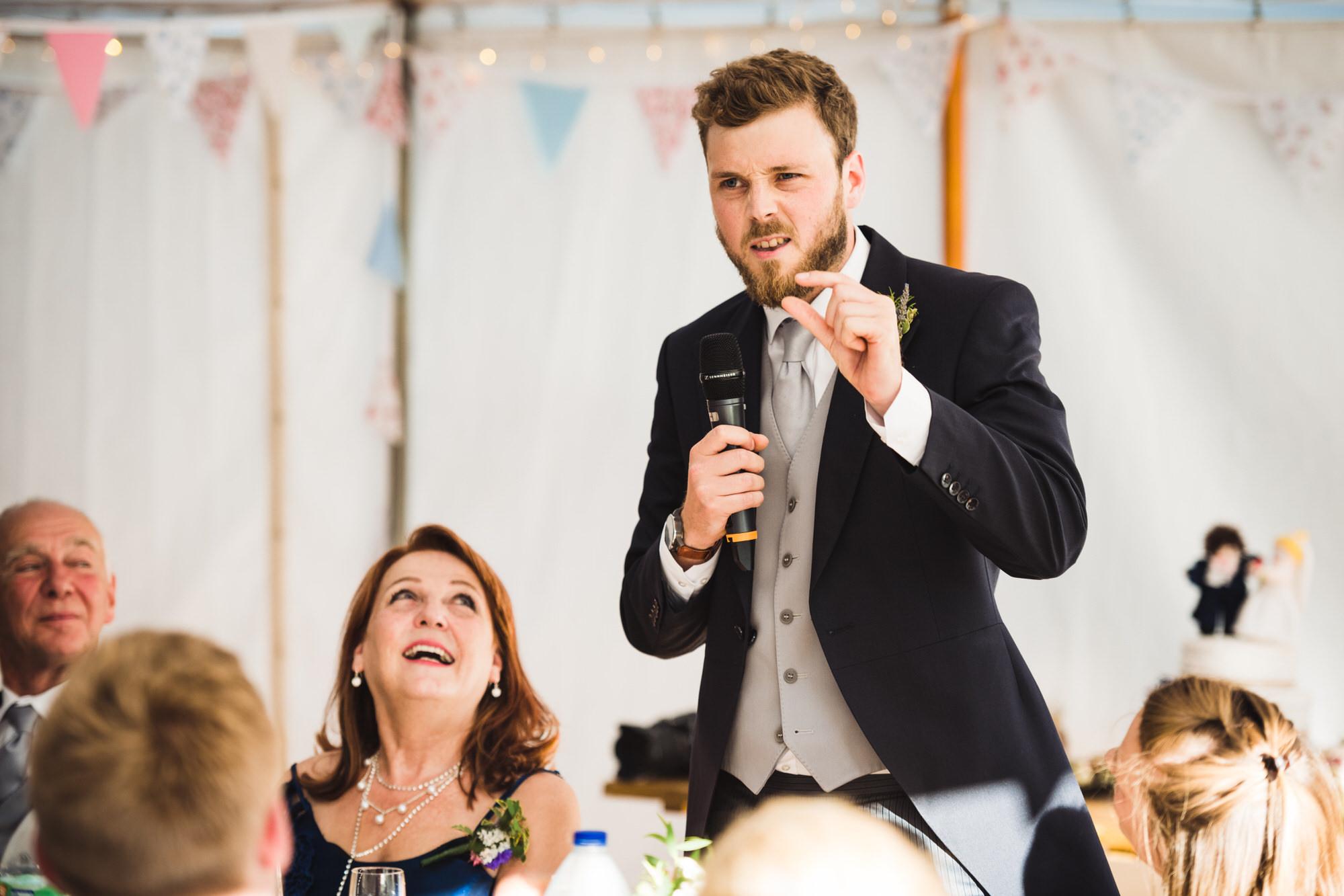 Tortworth lake wedding speeches 30