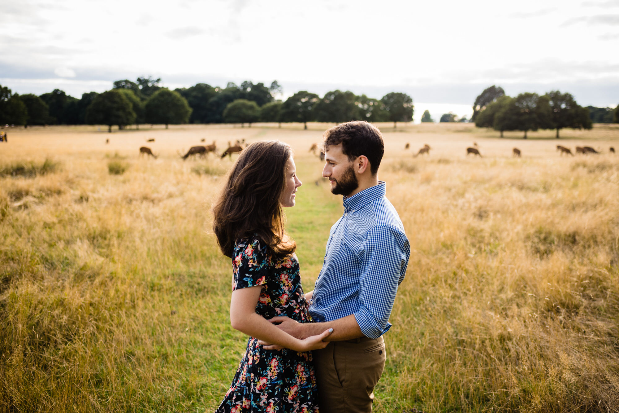 Richmond park london portrait photography 2