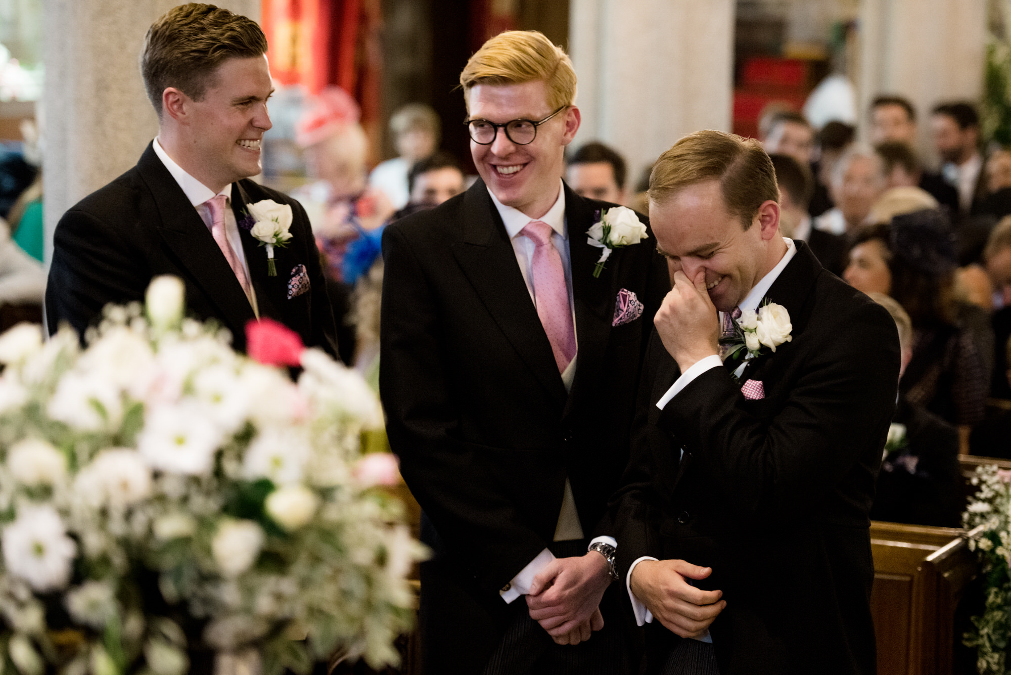 St Peters Church, Noss Mayo wedding
