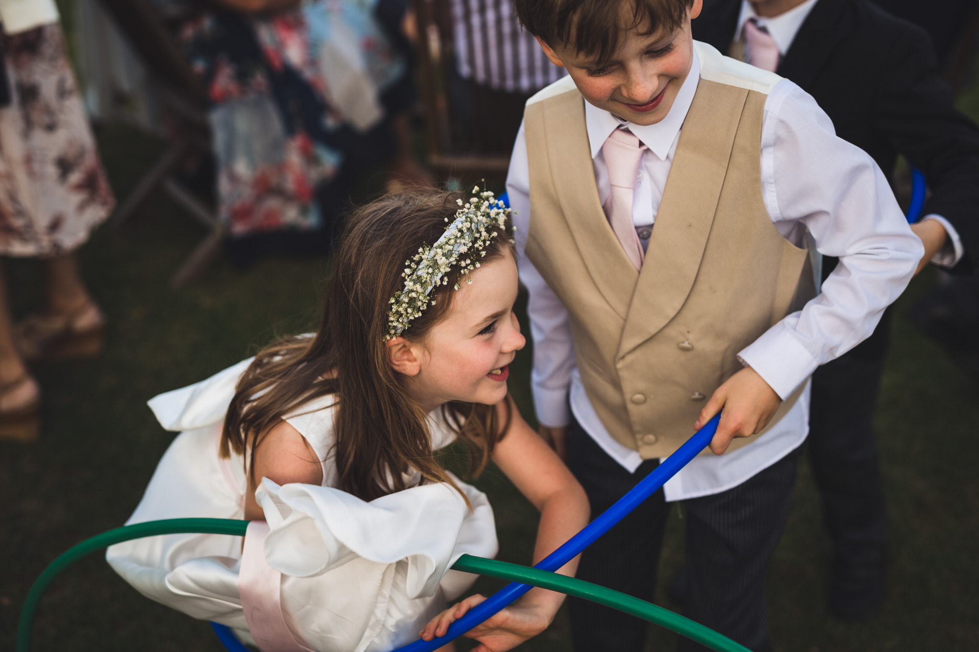 Kids play at Shilstone wedding