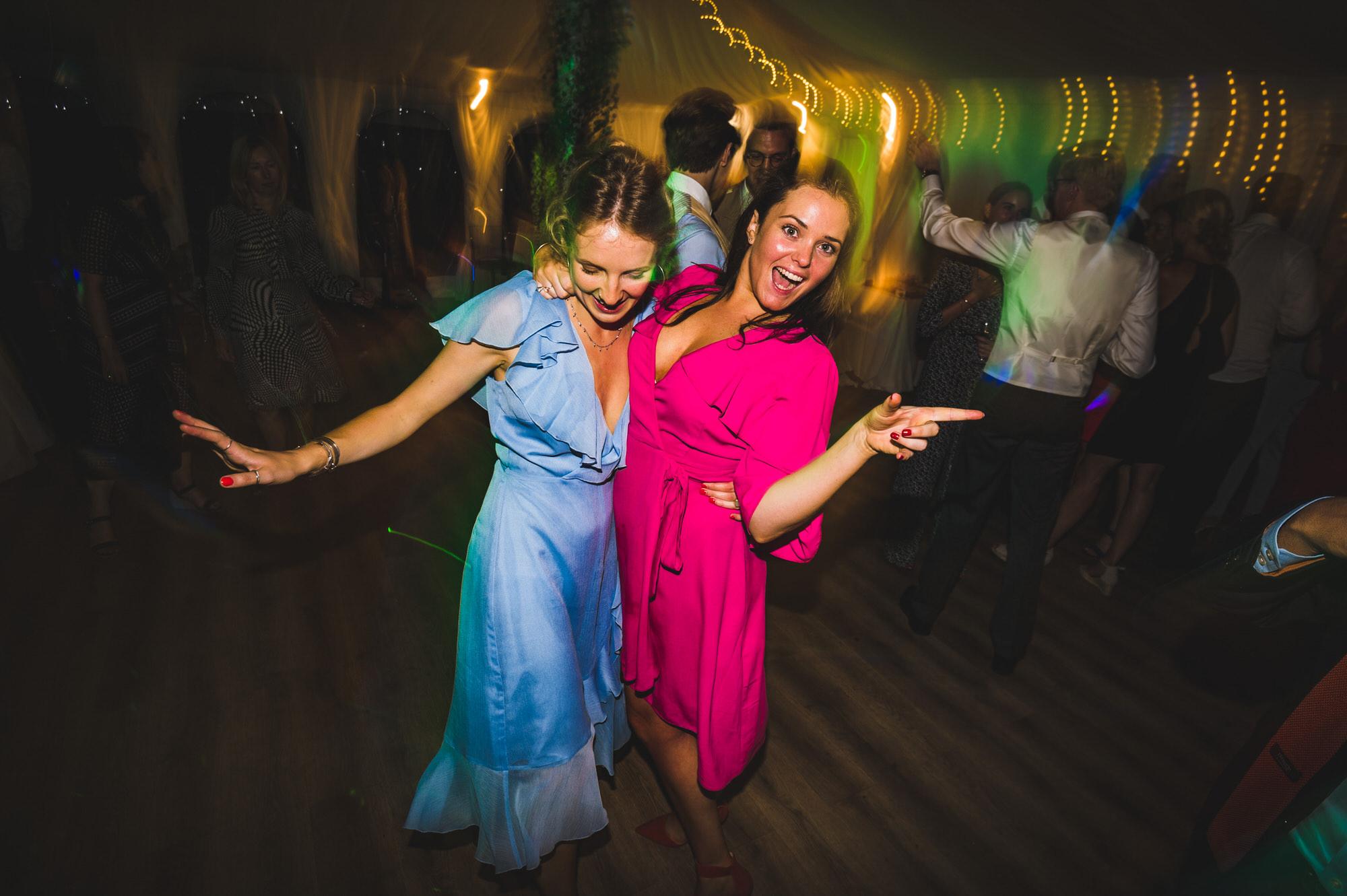 dancing at Shilstone House wedding